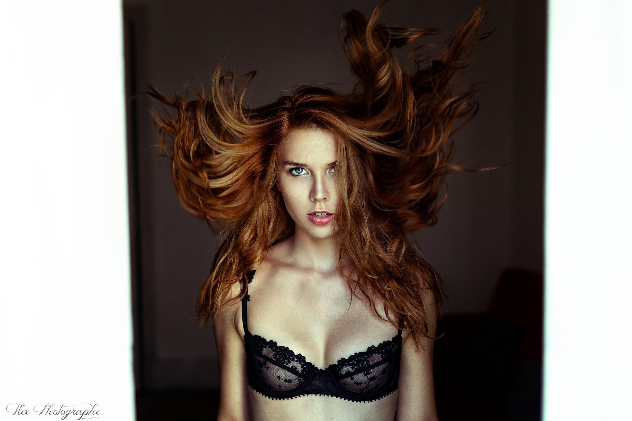Somewhere in the Dark Hair by Tlex