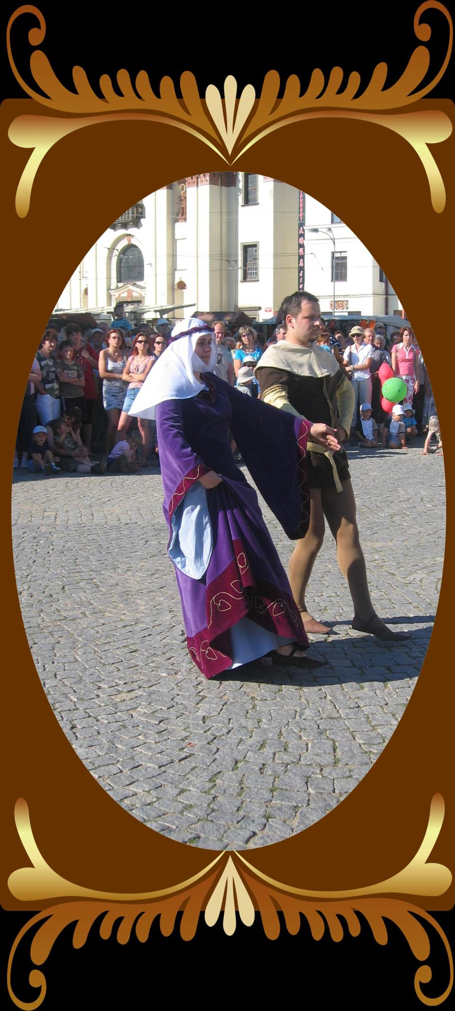 Historic dance  by Jaroslav Reznicek