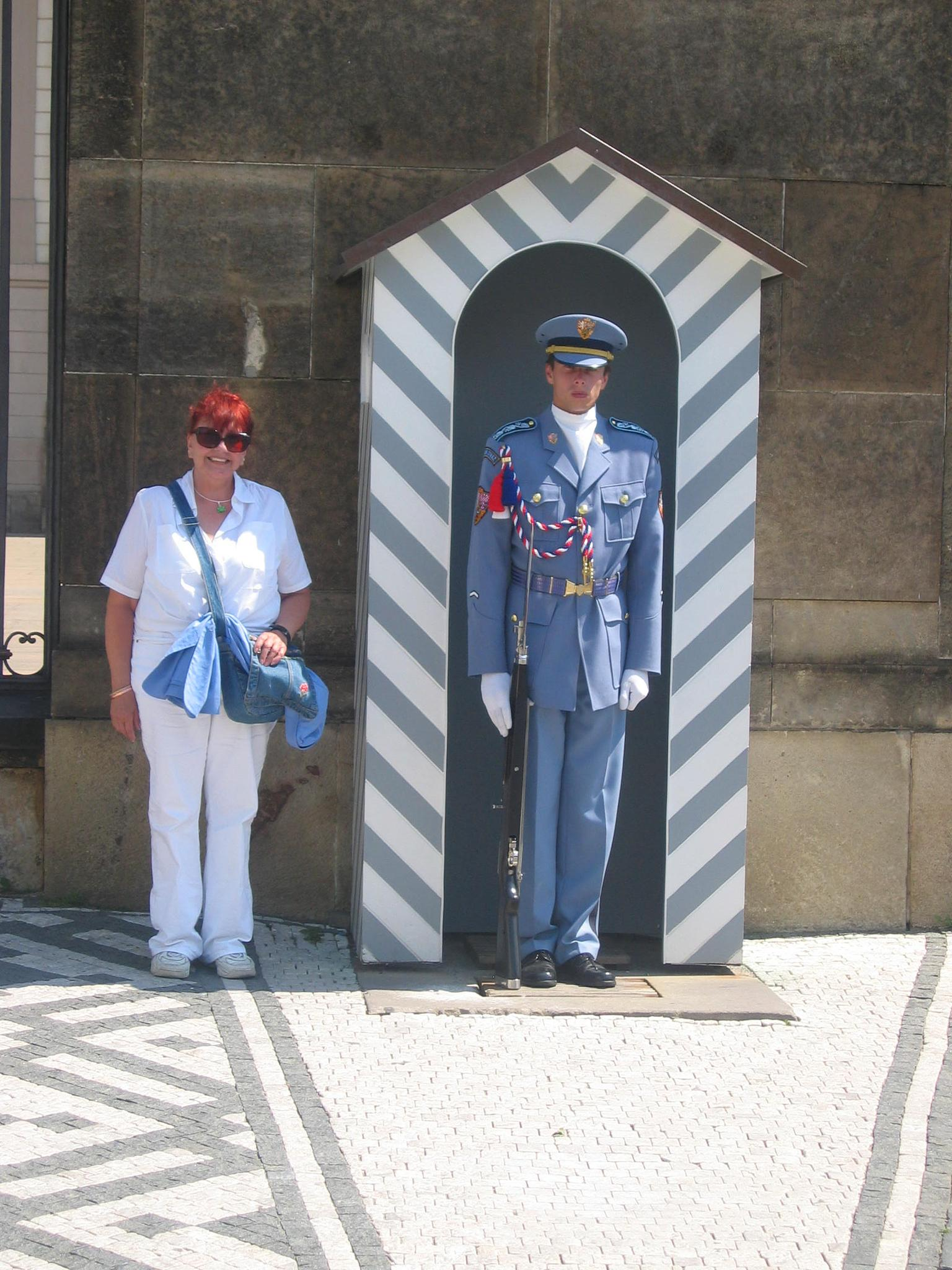 Helping to guard Prague castle by Jaroslav Reznicek