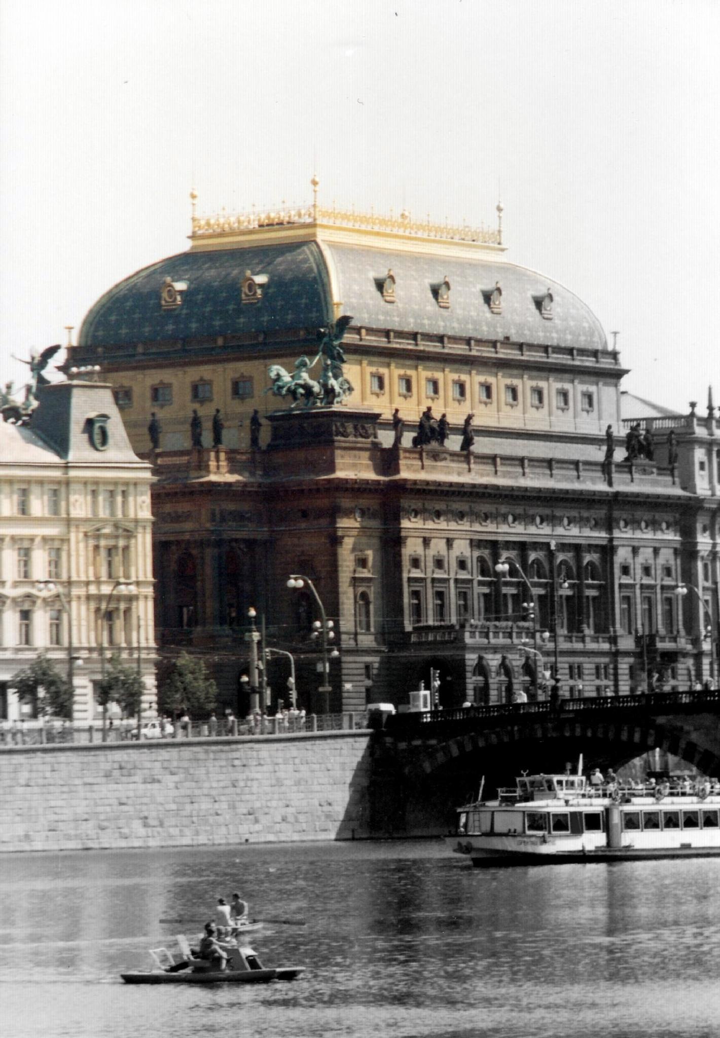National Theater across the Moldau by Jaroslav Reznicek