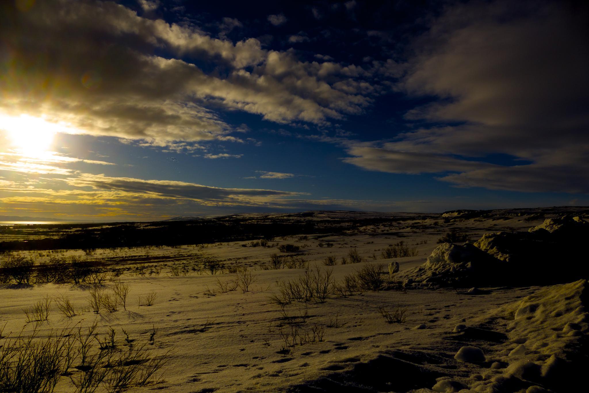 Mmmmm beautiful skyline by OleFoto