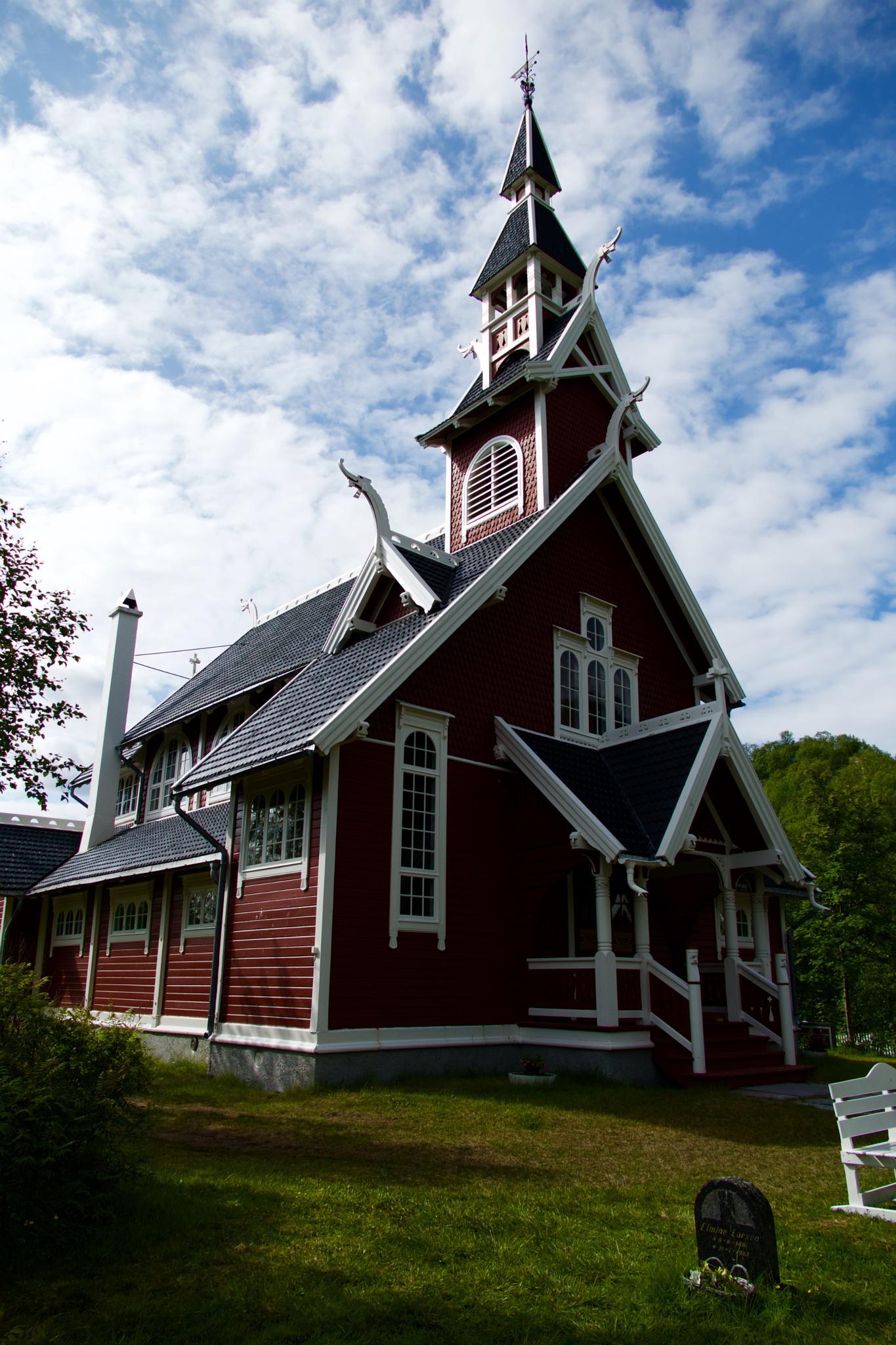 Neiden Church by OleFoto