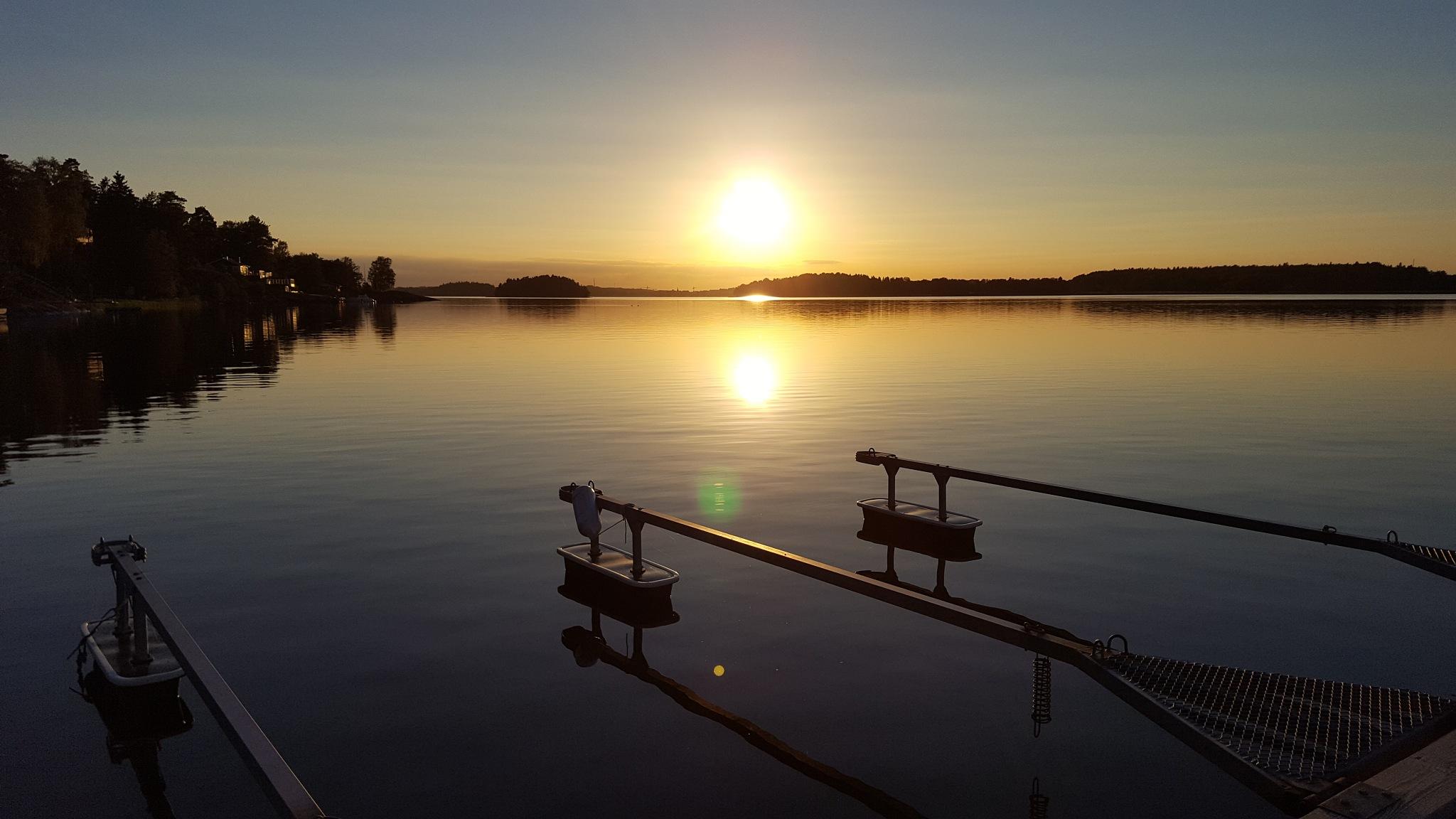Sunset  by Susanne Brännström