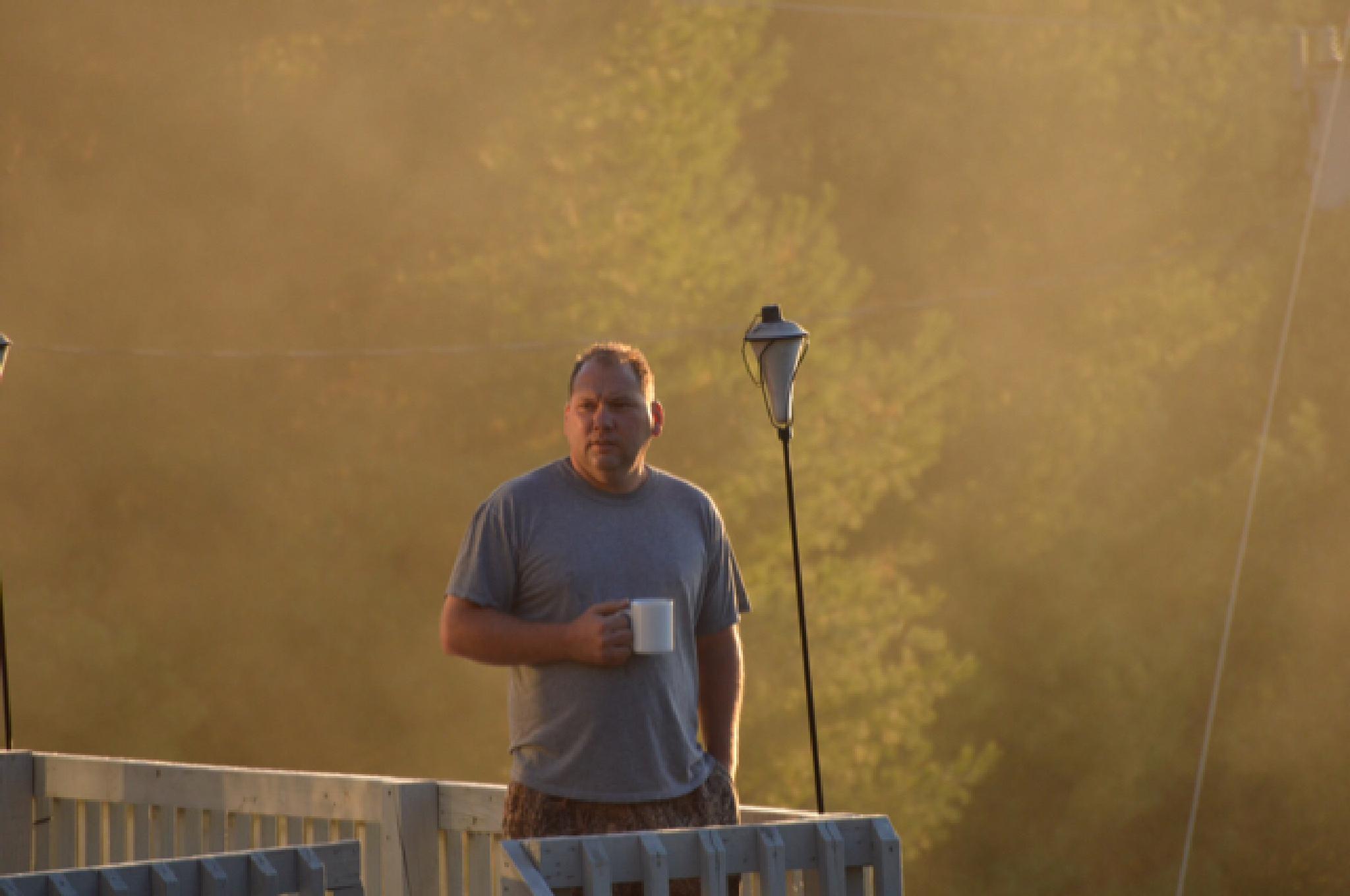 Photo in People #morningcoffee #upstatenewyork #september