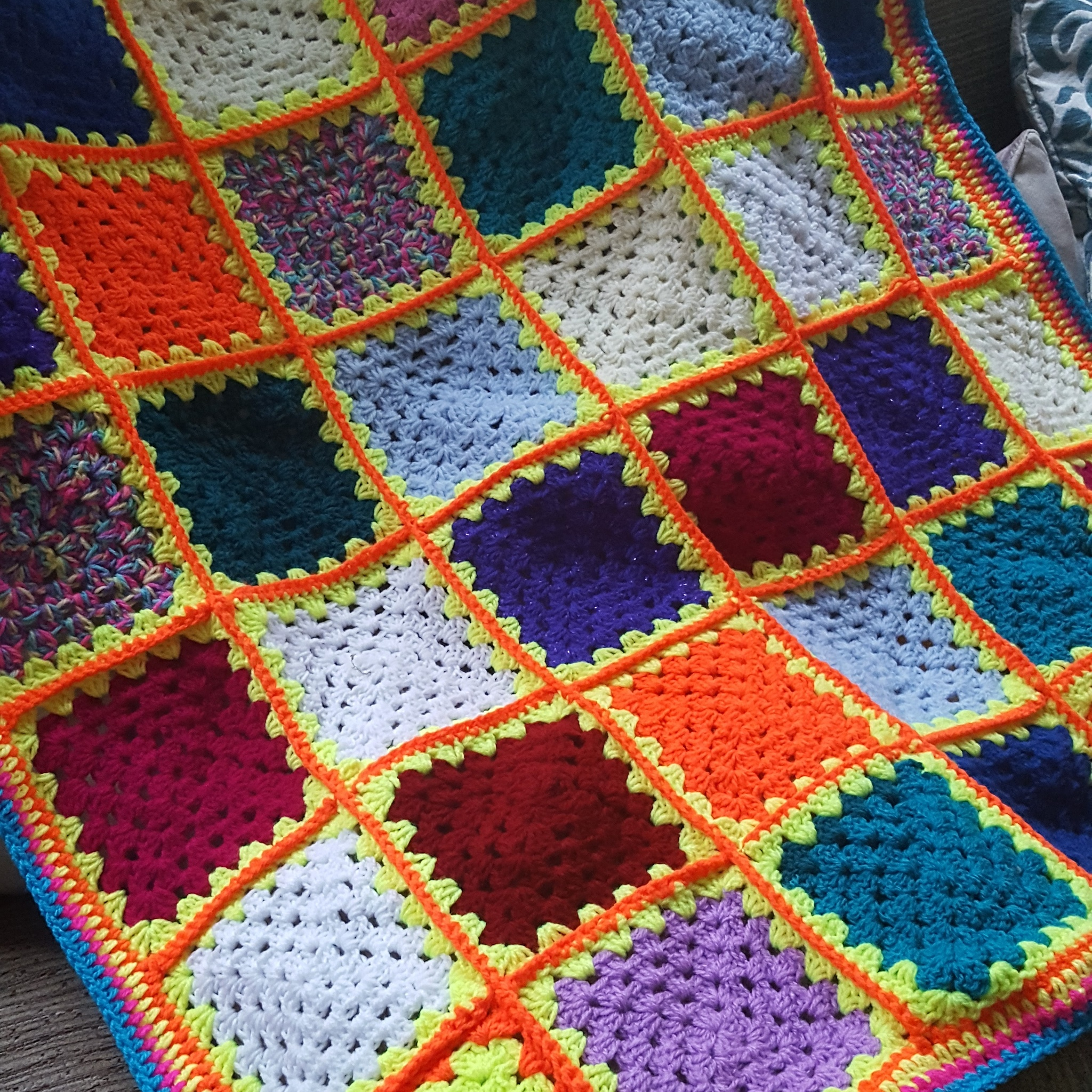 colourful blanket  by tattooogirl