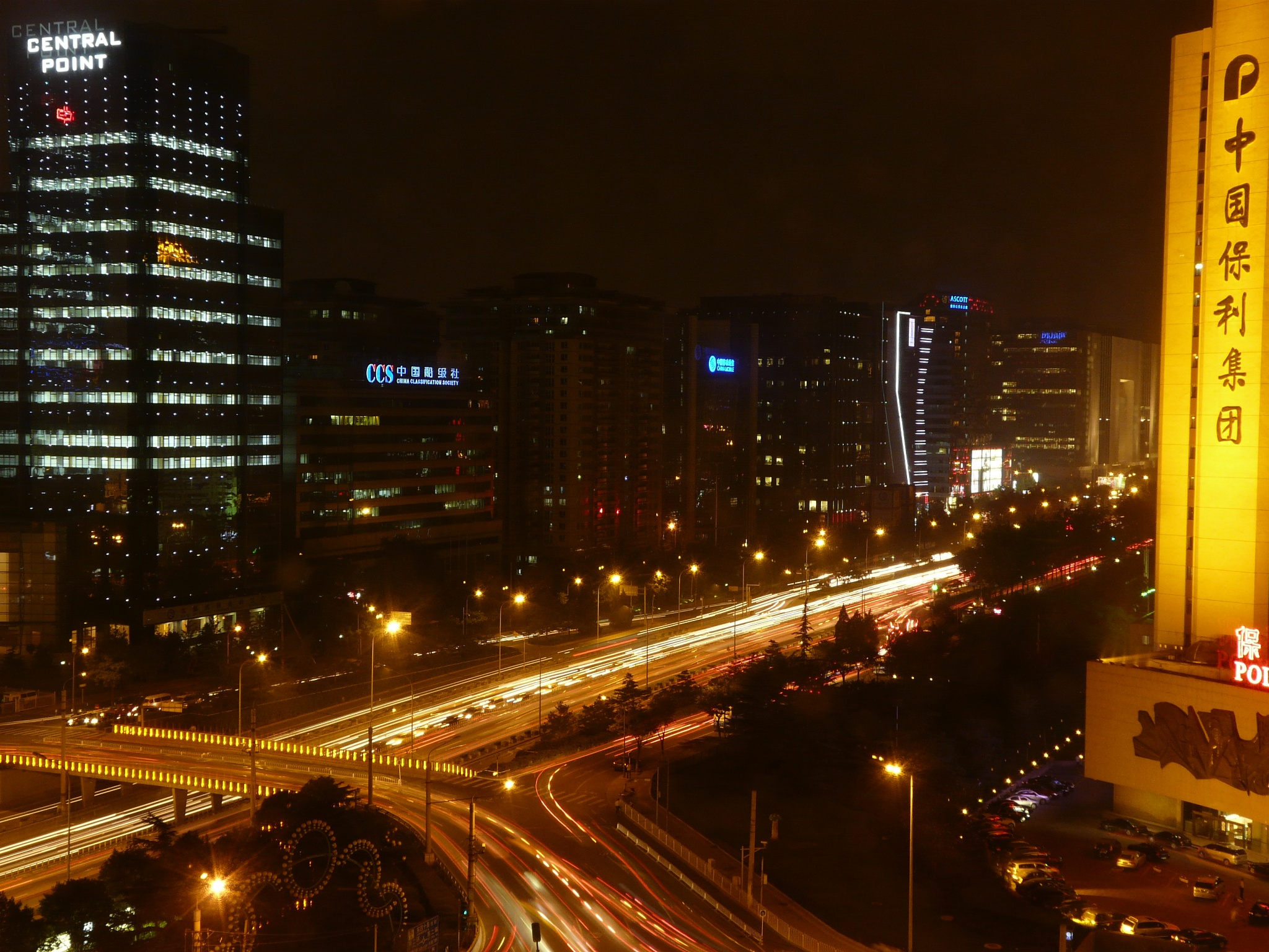 Beijing at night by dean.russell.3551