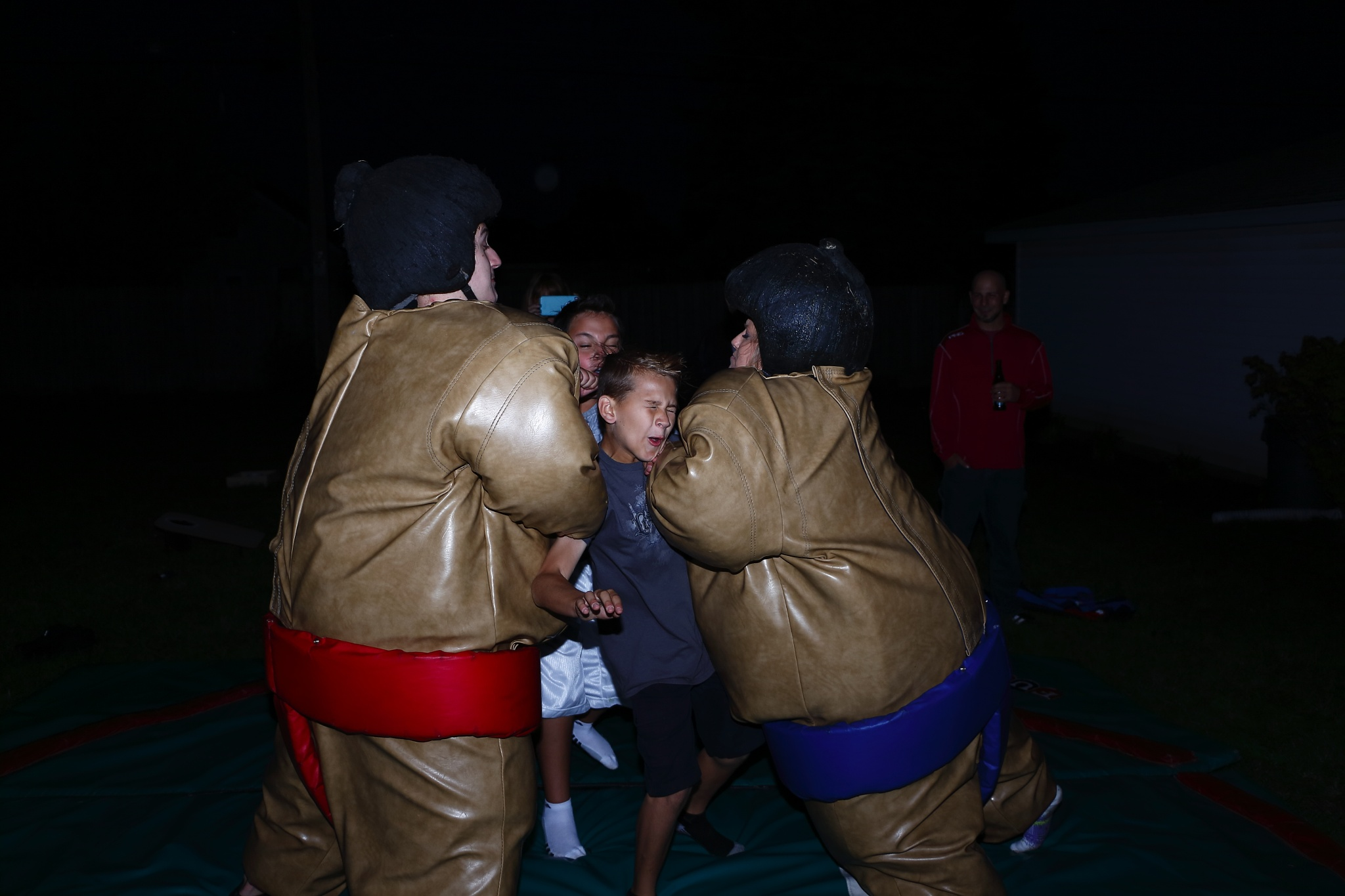 Sumo suit smash! by Danny V Photography