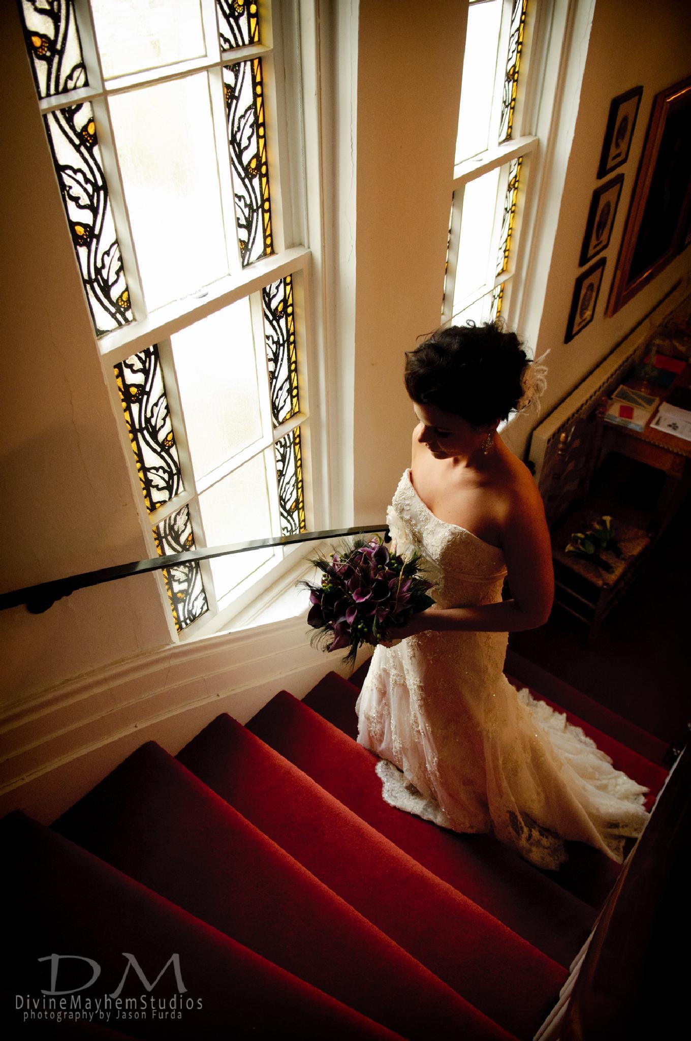 Photo in Wedding #bride #formal #window light #wedding