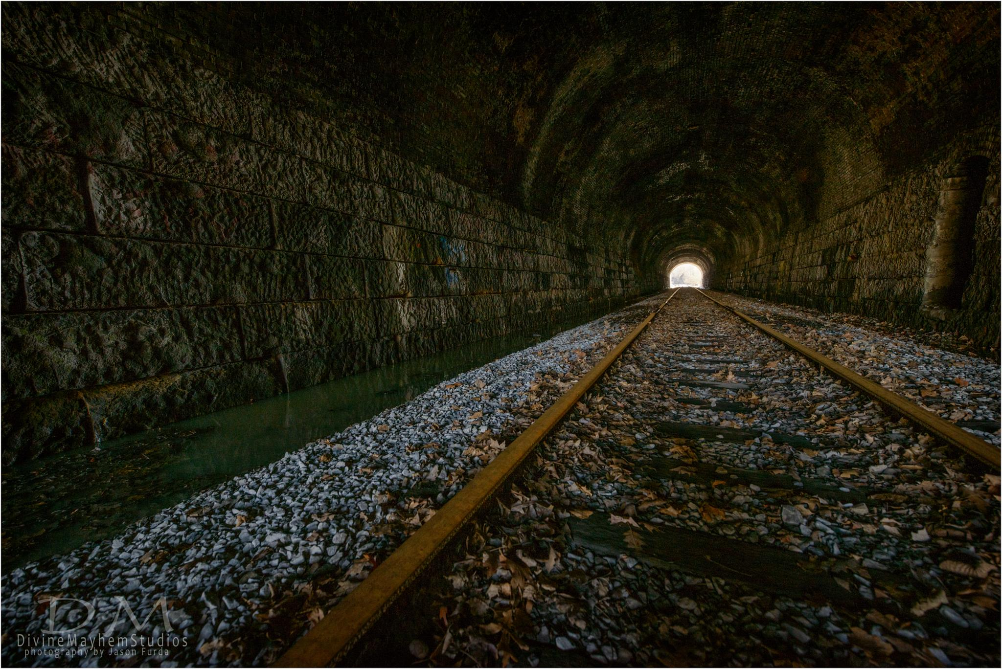 The Textures Of The Tunnel by Jason Furda