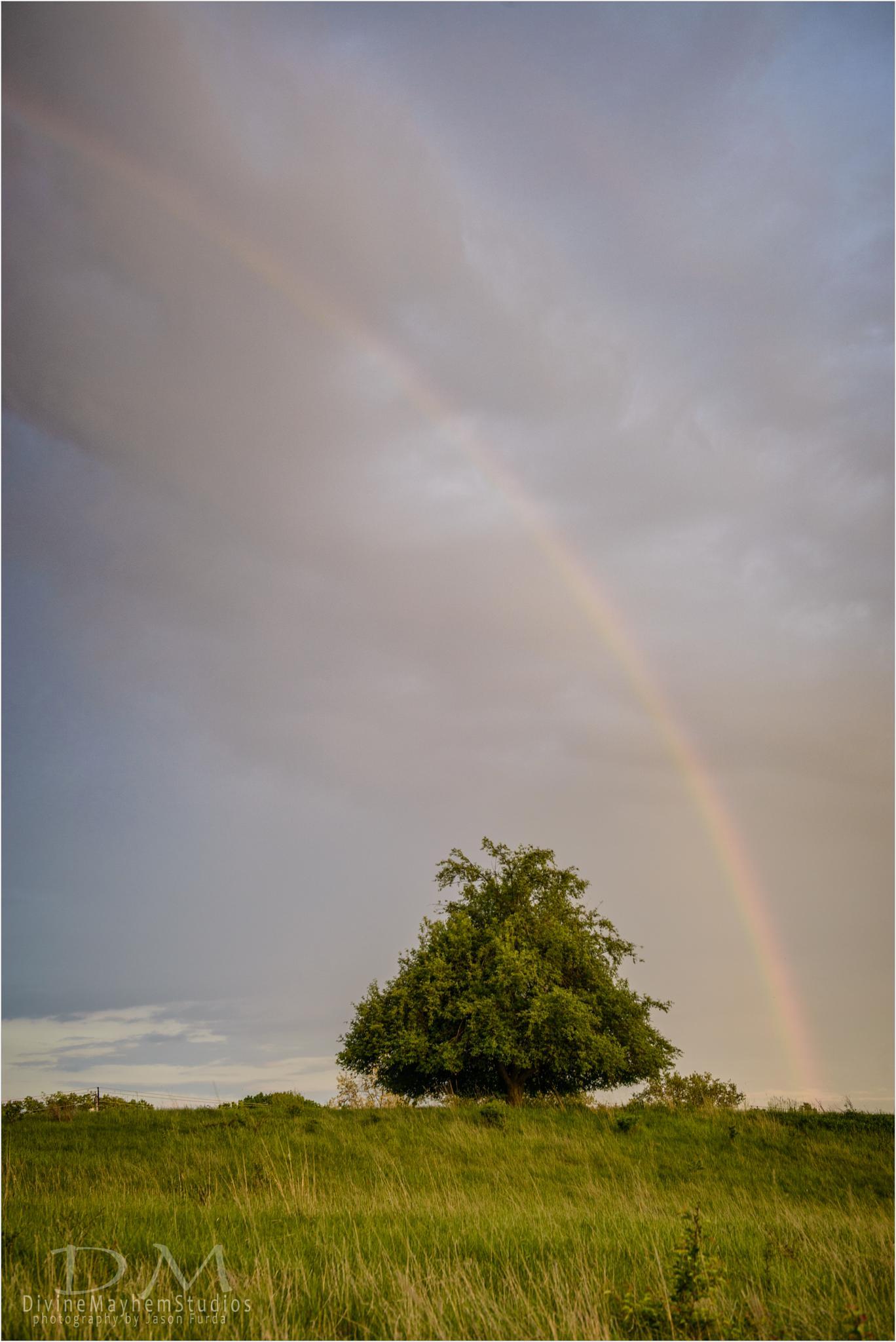 Mother Nature Throwin 'Bows by Jason Furda