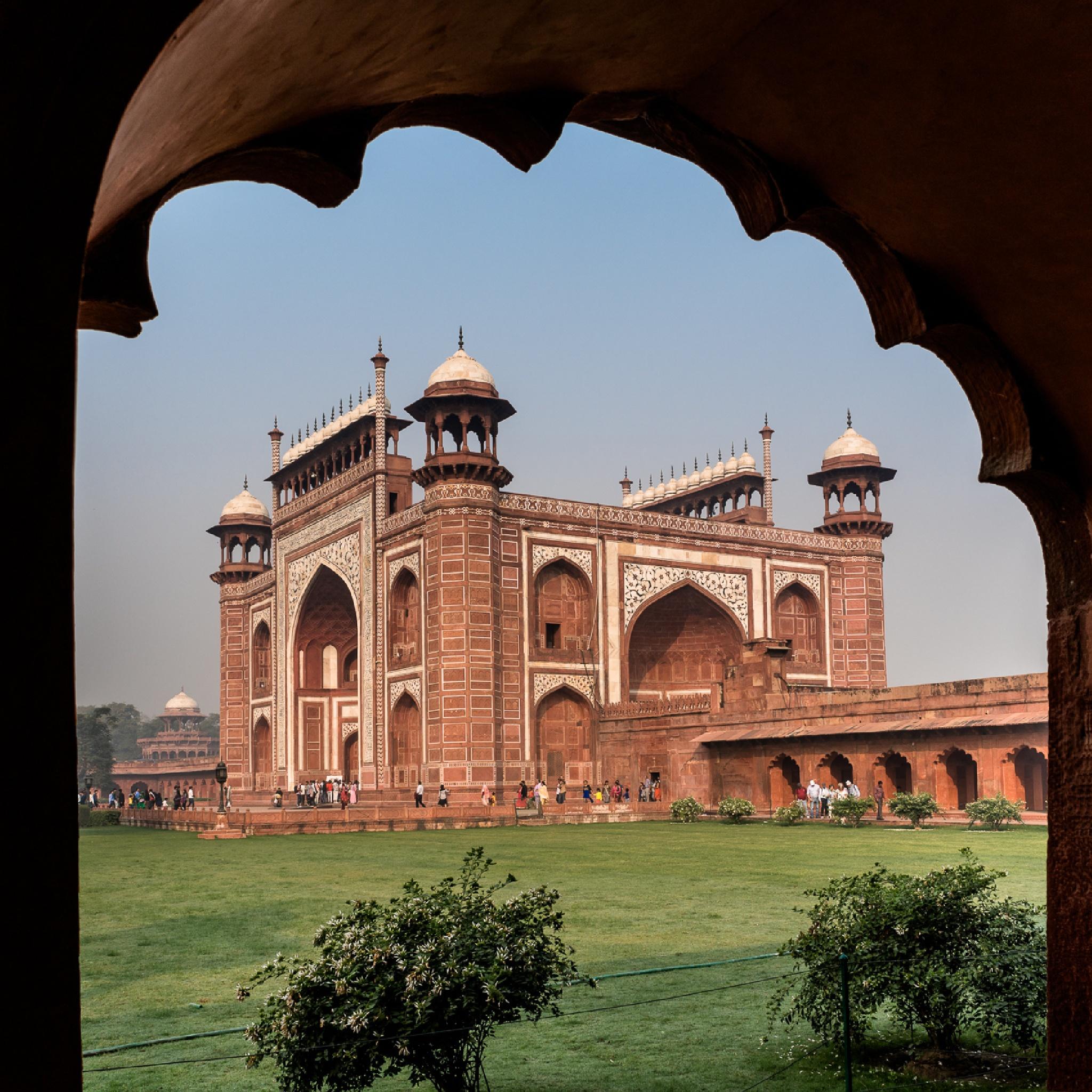 Gateway to Taj Mahal by William Yu Photography