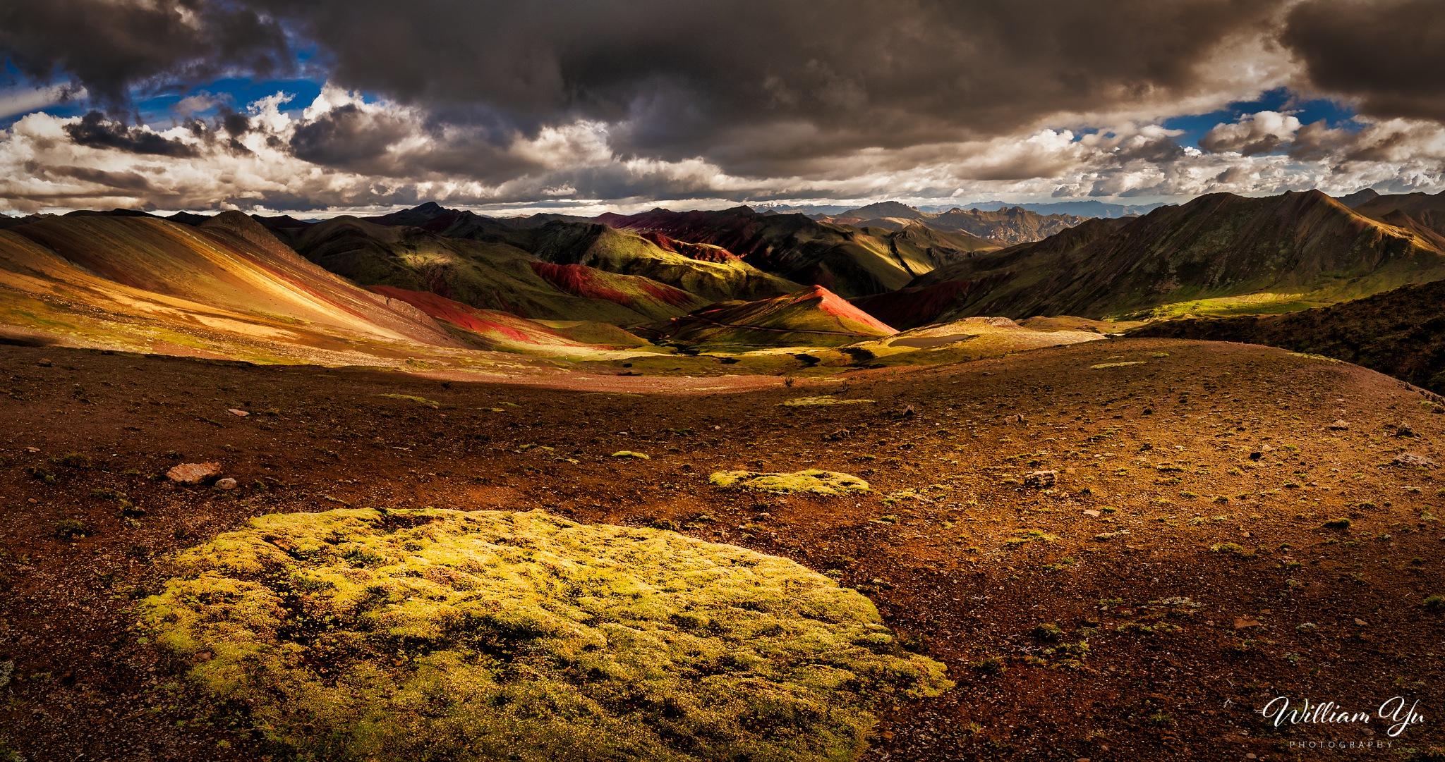 Rainbow Mountain, Peru by William Yu Photography