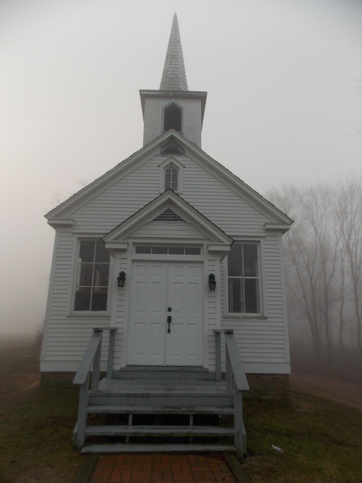 Old Church in the Mist by vicky.hiner-velez