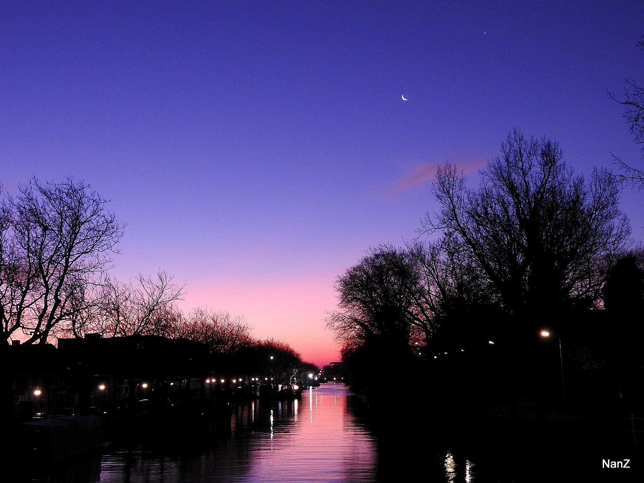 """Canal 'De Schie"""" by Nancy Zuiderwijk"""