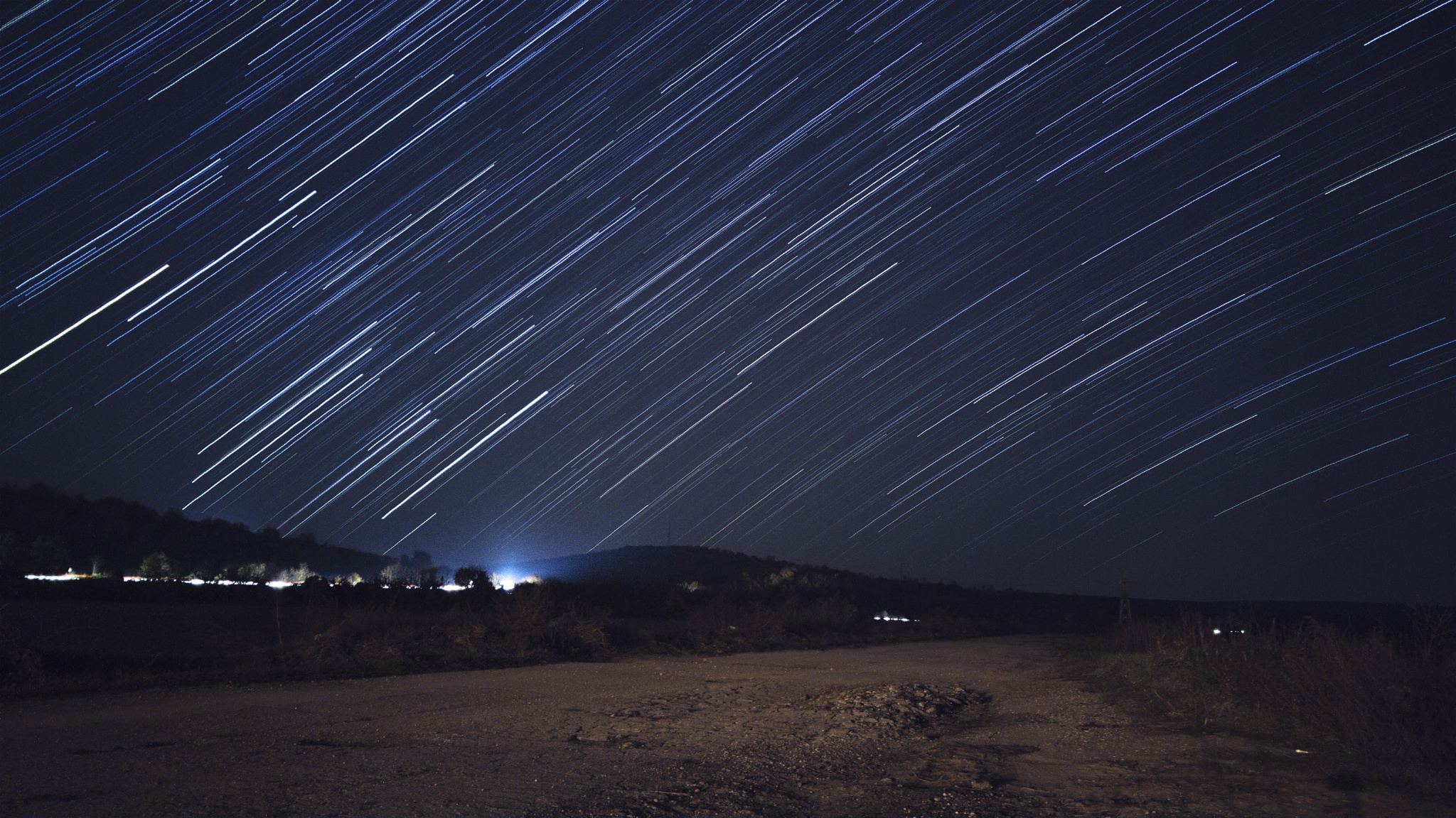 Star Trails by Tsvetan Ganev-CECLII