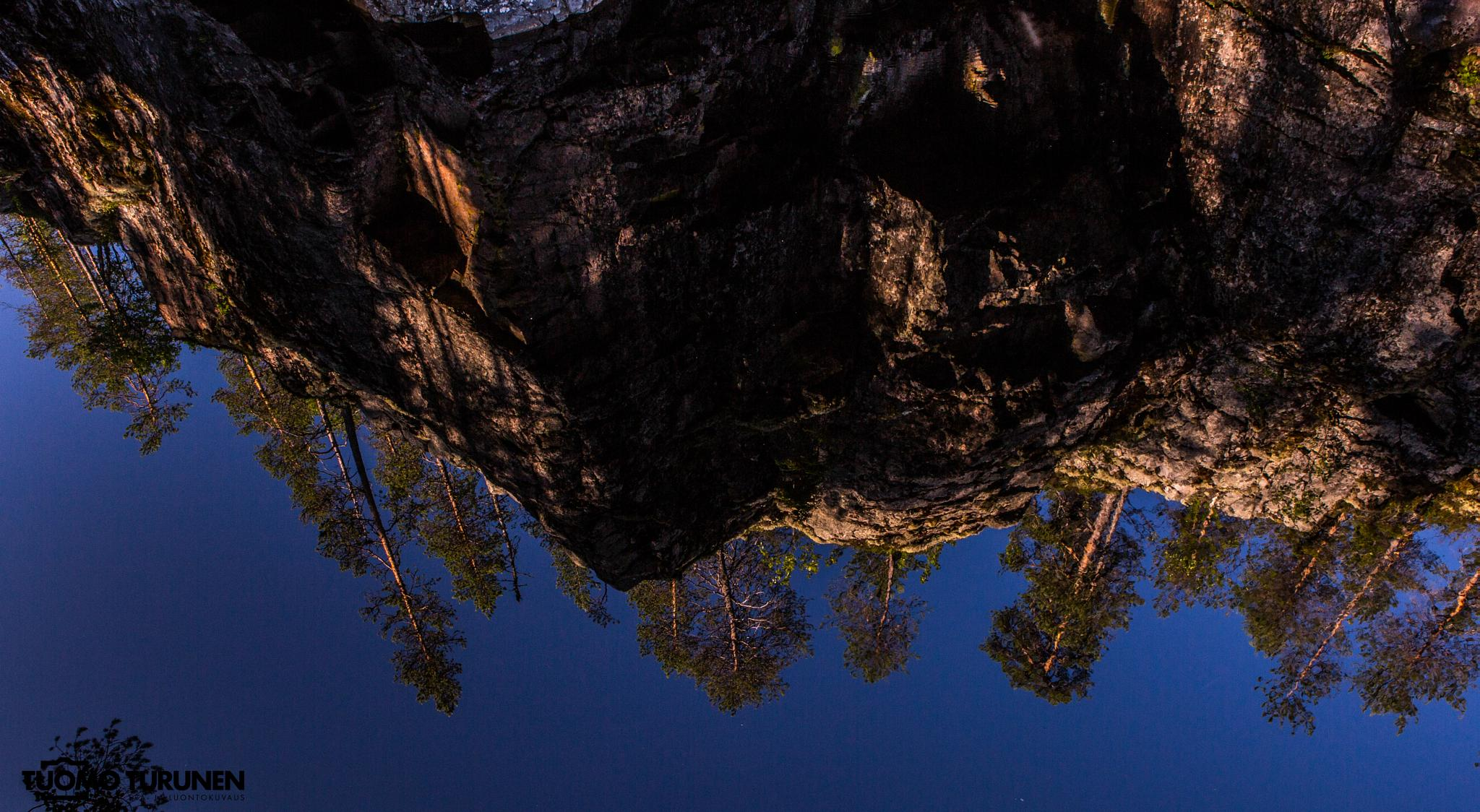 Reflection in the water by Tuomo Turunen