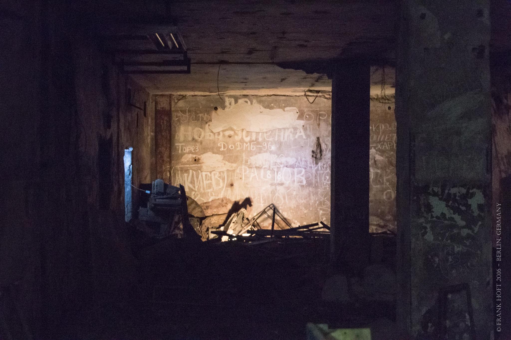 in old bunker by Frank Höft
