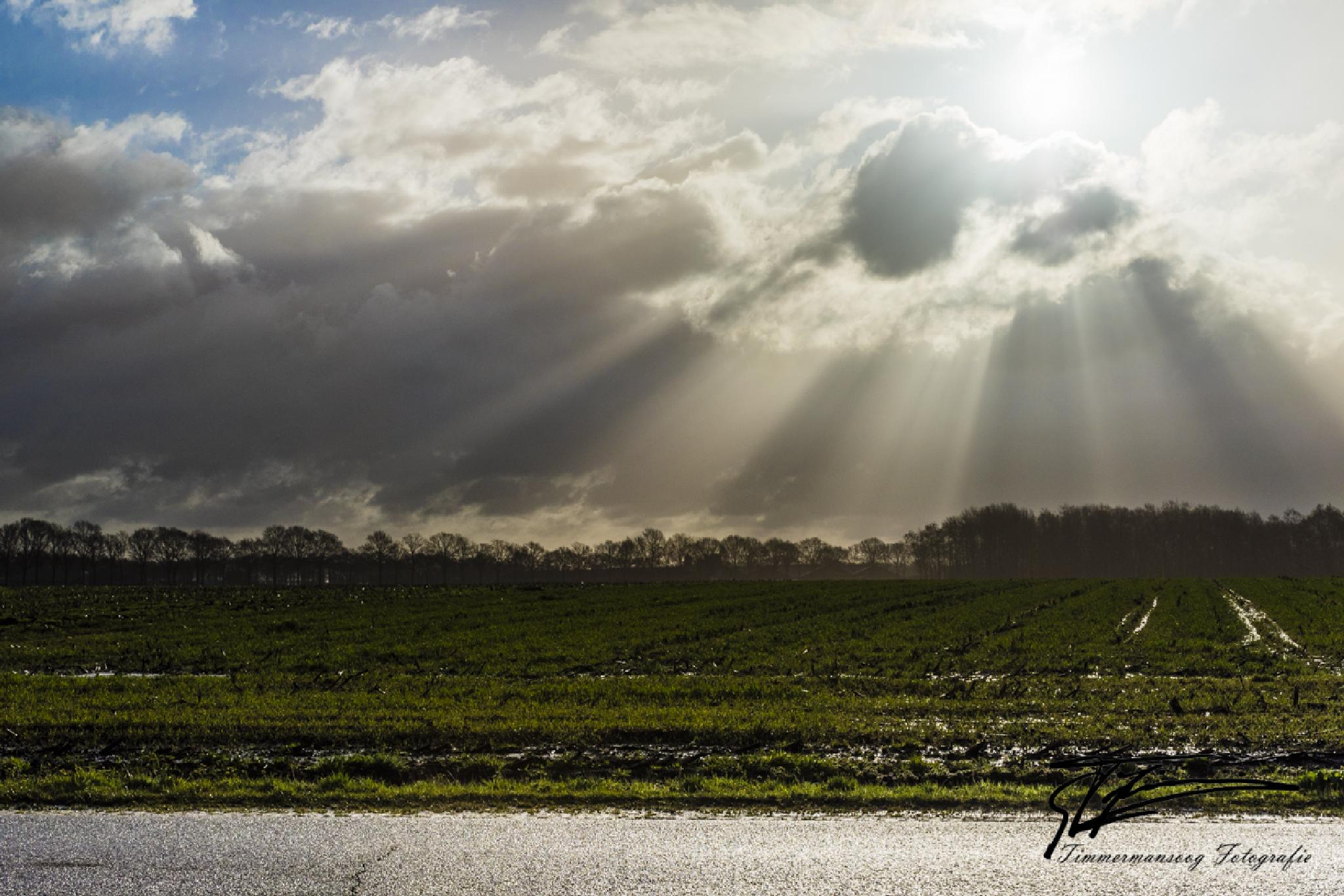 Dutch (water)-mountains by geertjan.timmermans