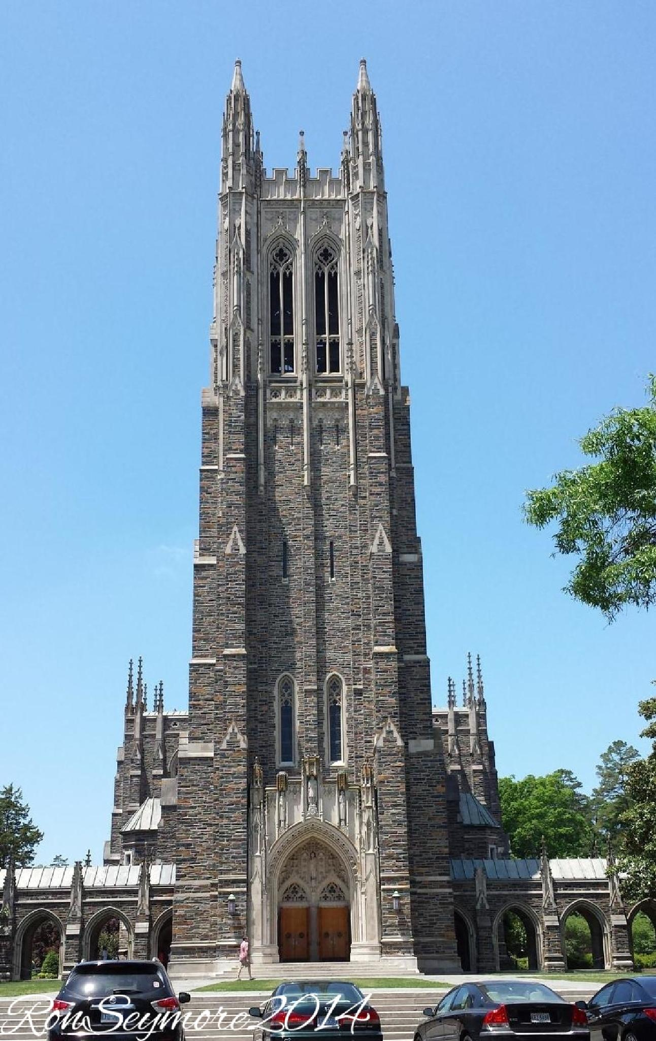 Photo in Architecture #duke #durham #chapel