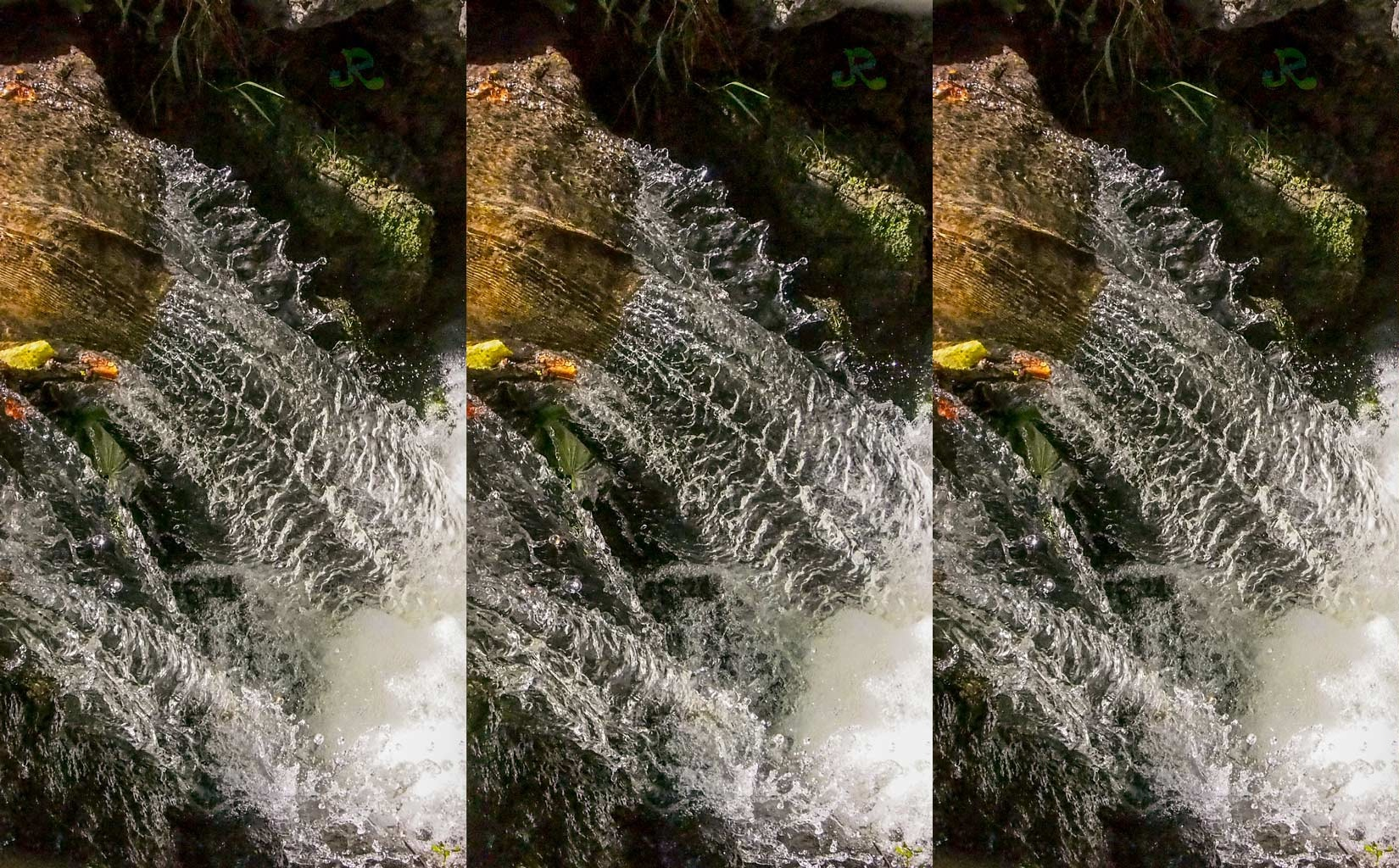 Just water — Stereoscopy by jacquesraffin