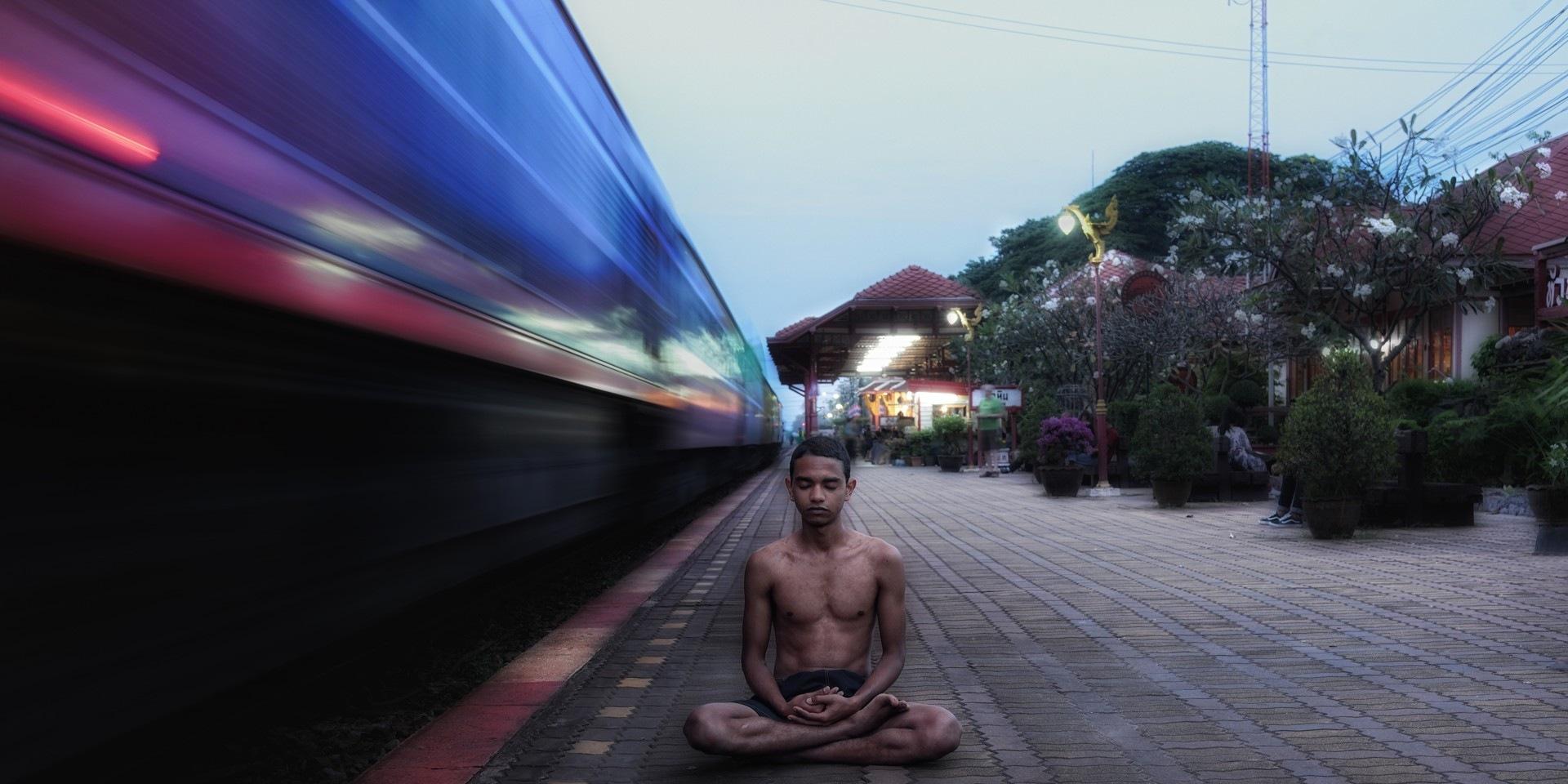 Meditation 2 by Somyot & Majid S Blend Werk