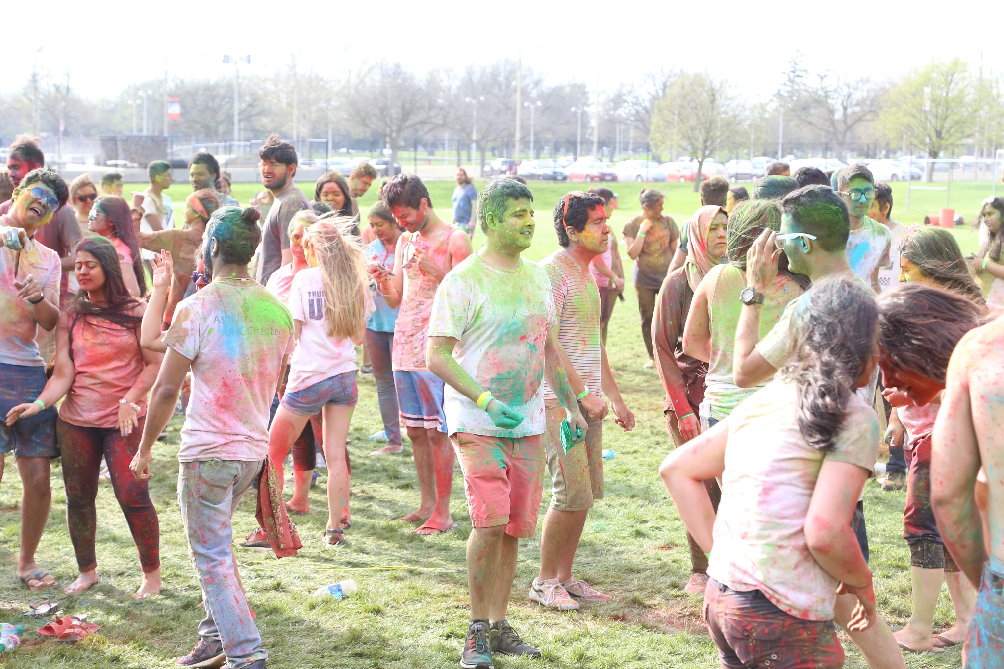 Holi Festival 6 by Henry M. Radcliffe III