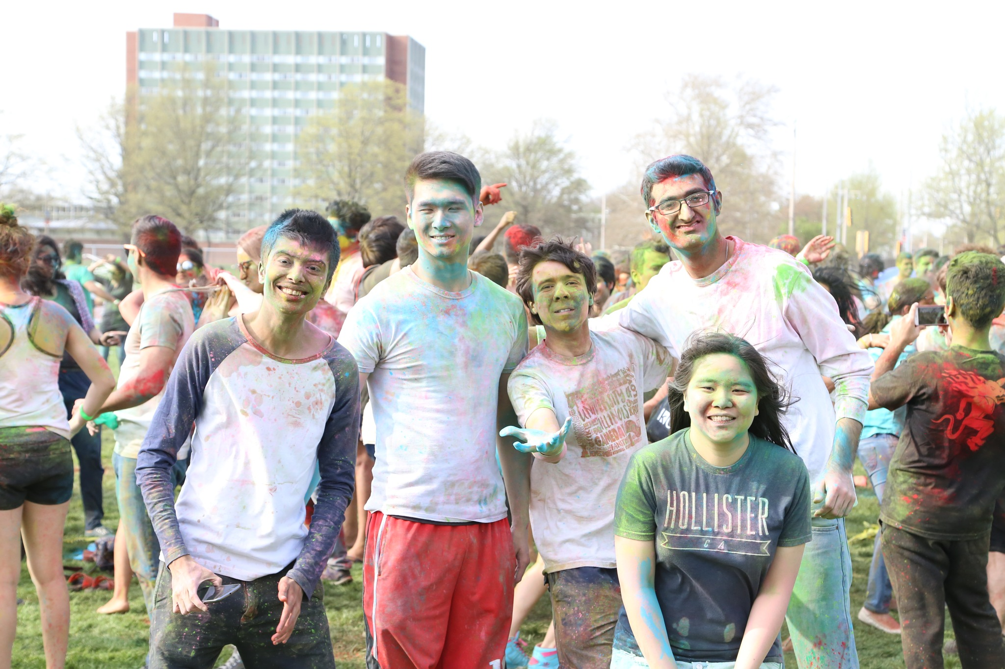 Holi Festival 5 by Henry M. Radcliffe III