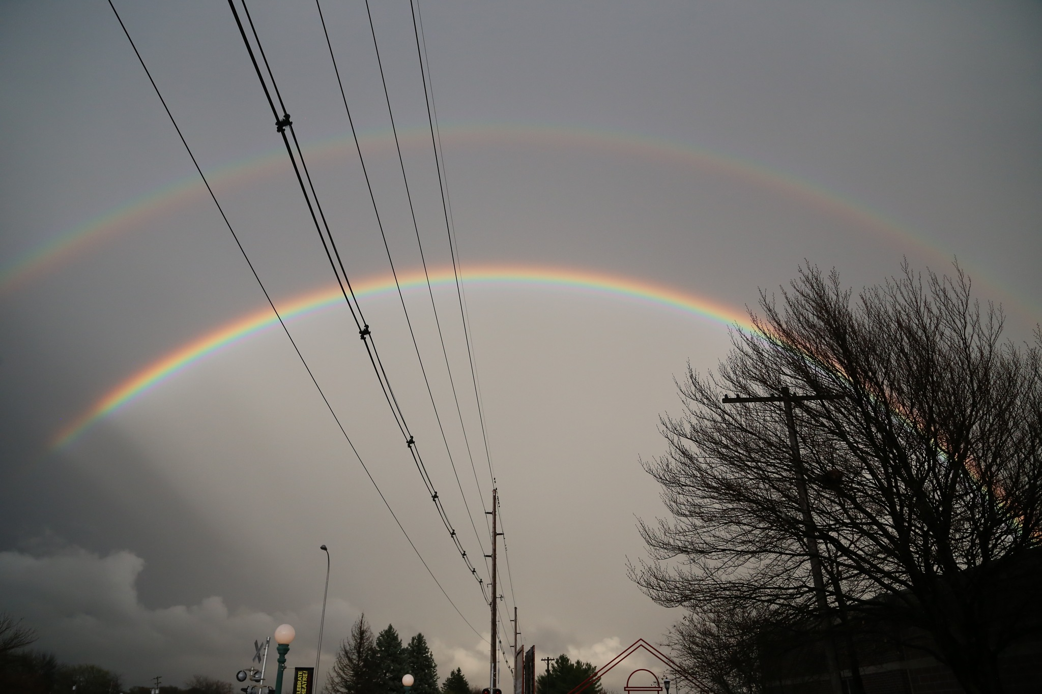 Double Rainbow by Henry M. Radcliffe III