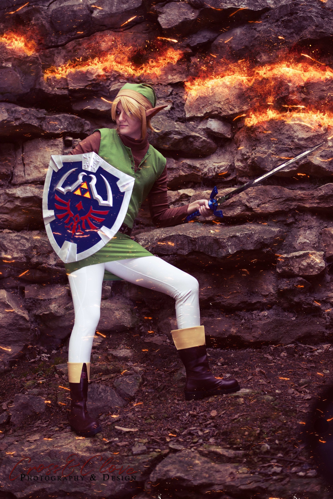 Classic Link from Zelda by Cross and Clove Photography