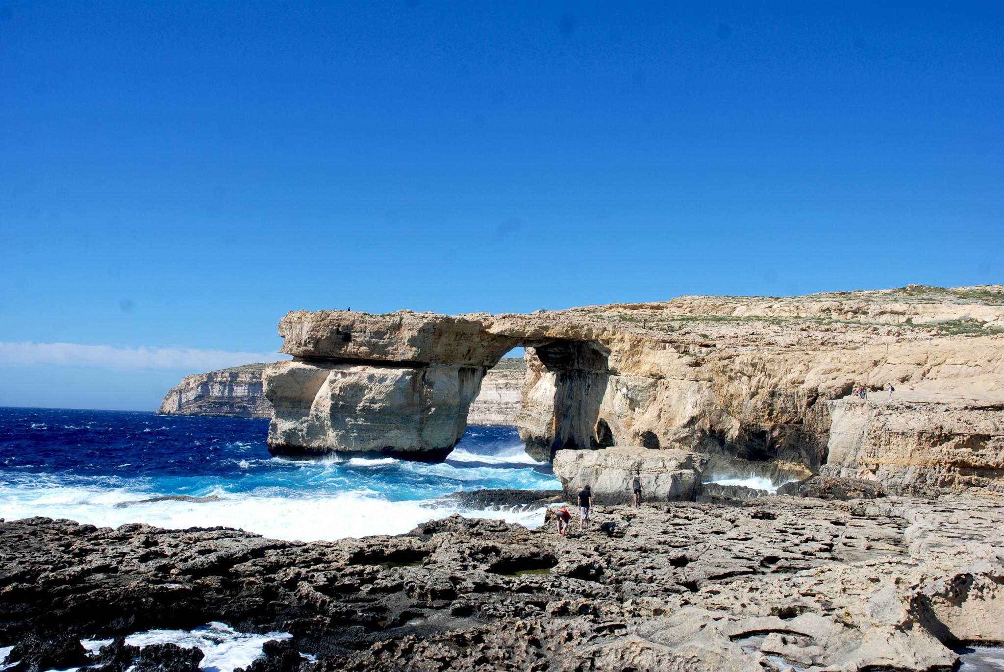 Azure Window  at Gozo by leena.ekroth