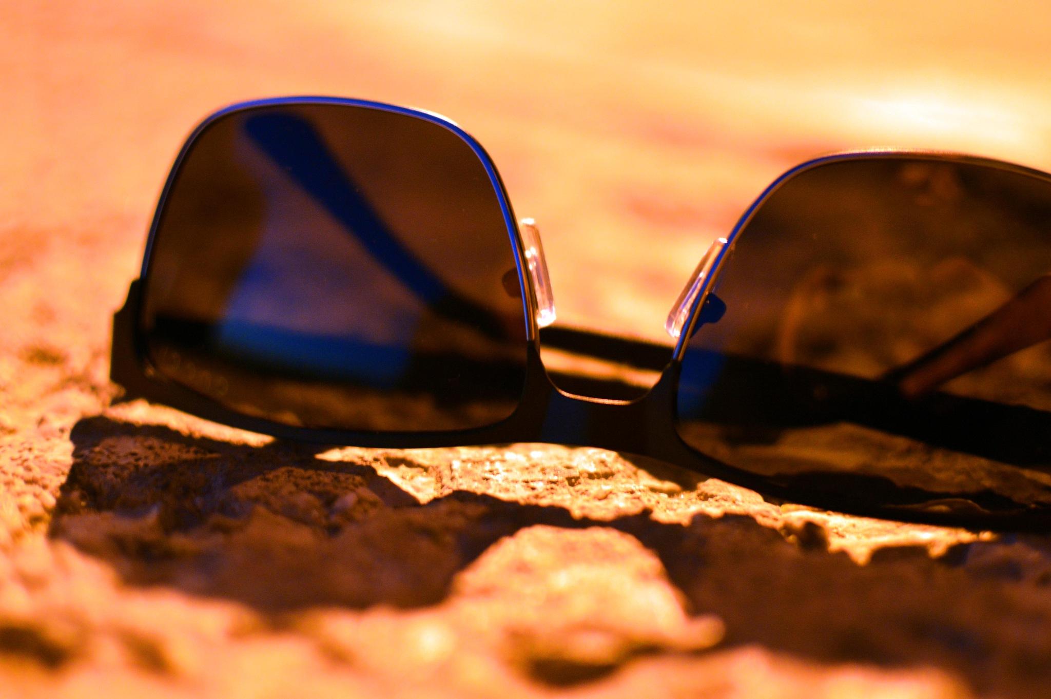 Sun Glasses  by Tarek Rabiai