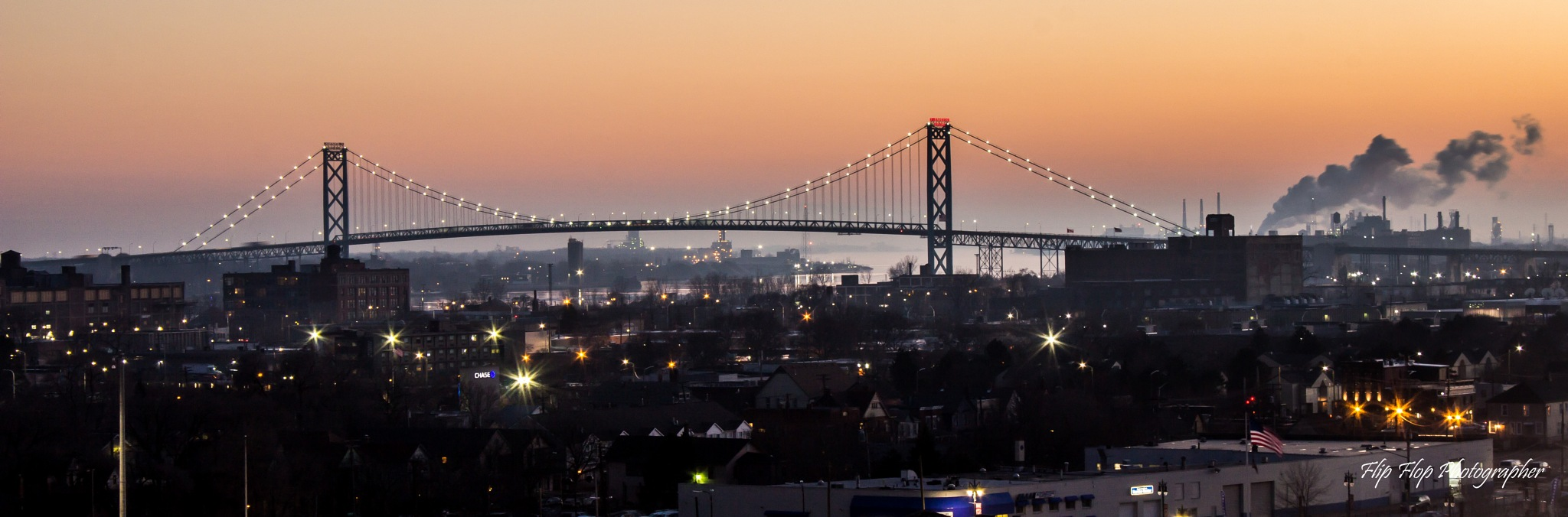 Ambassador Bridge by Angela Mead