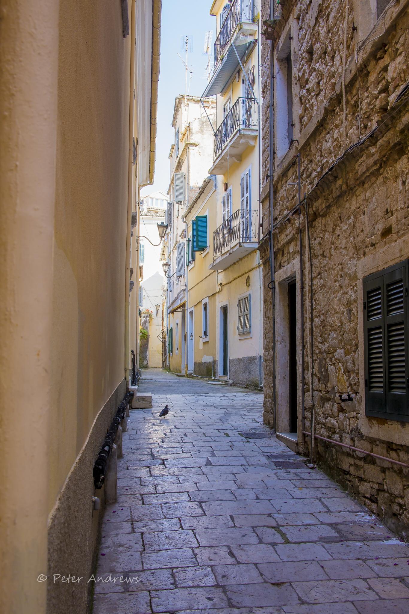 Corfu Backstreet by pa59