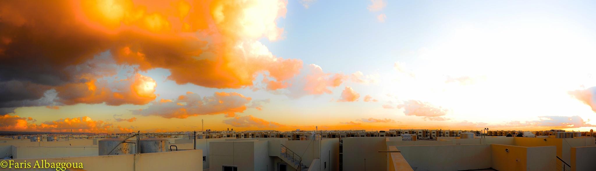 Clouds by  faris albaggoua