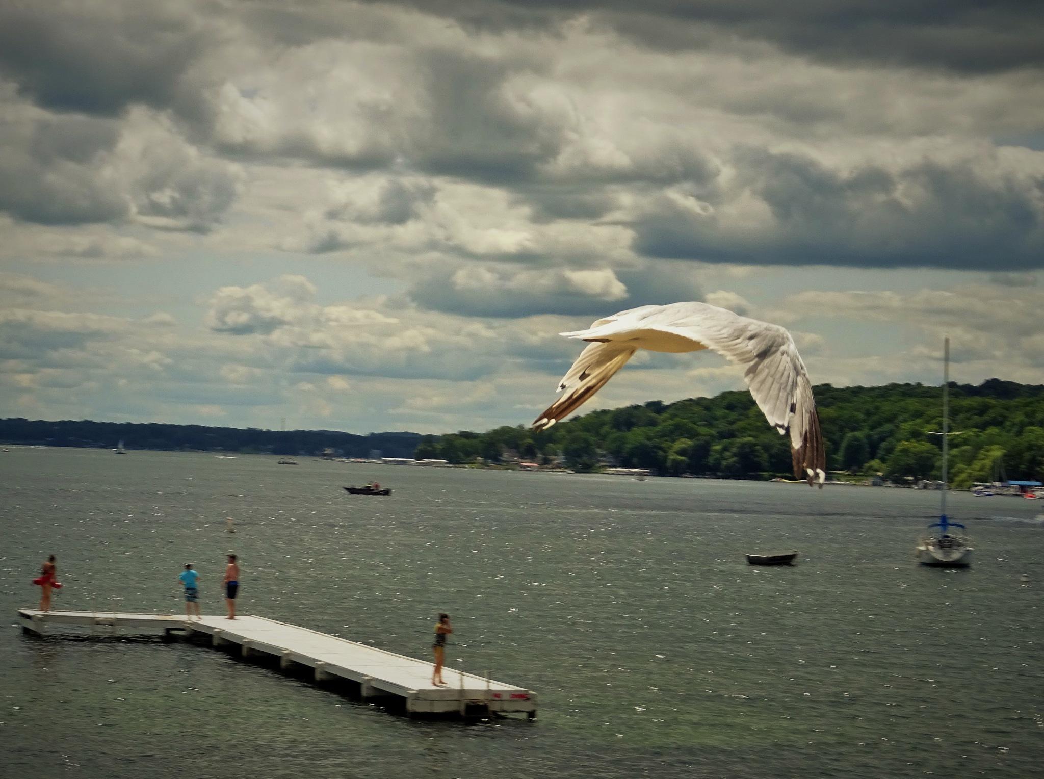 Wisconsin. Geneva lake. by vita.tucaite