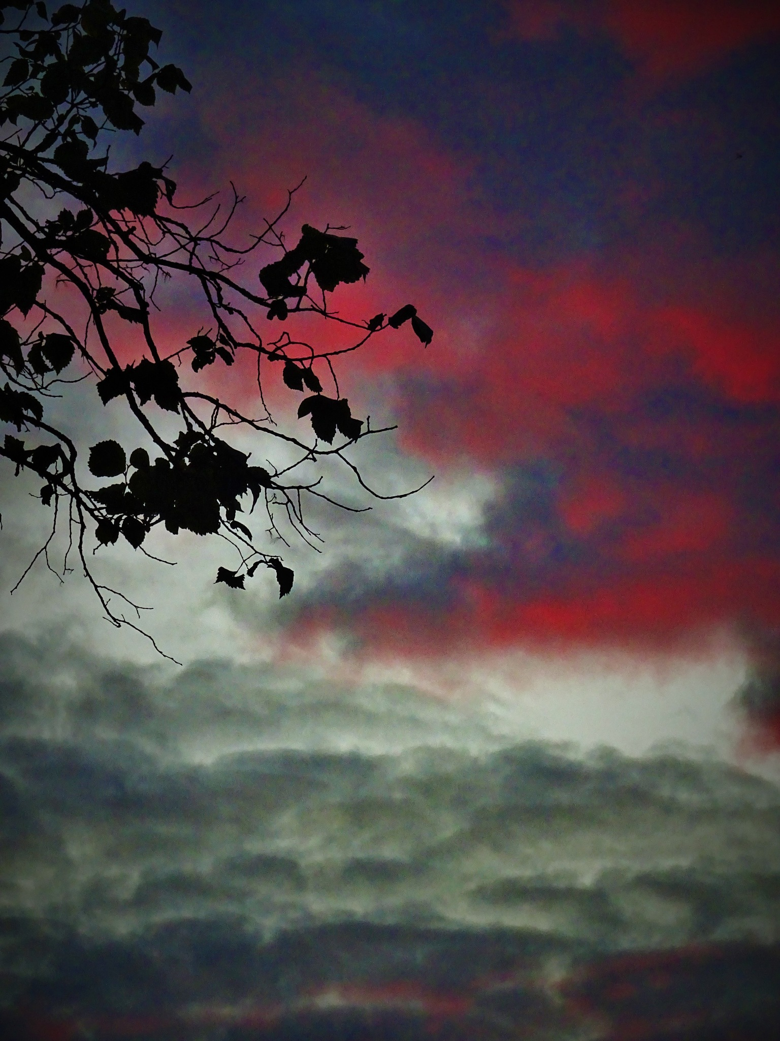 Sunset behind my window. by vita.tucaite