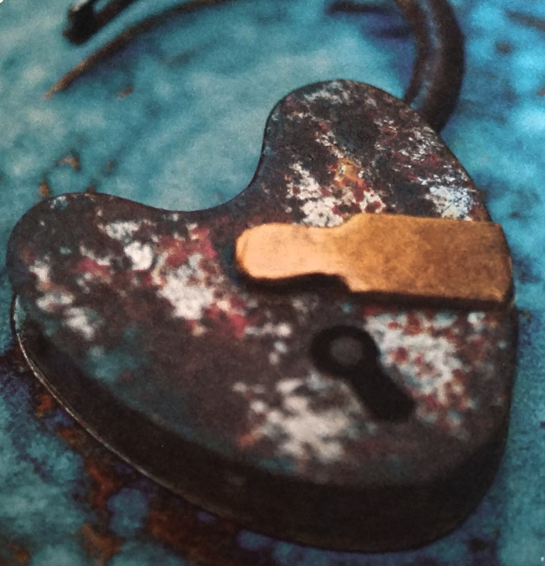 Rusty Padlock by deanna.j.gallion