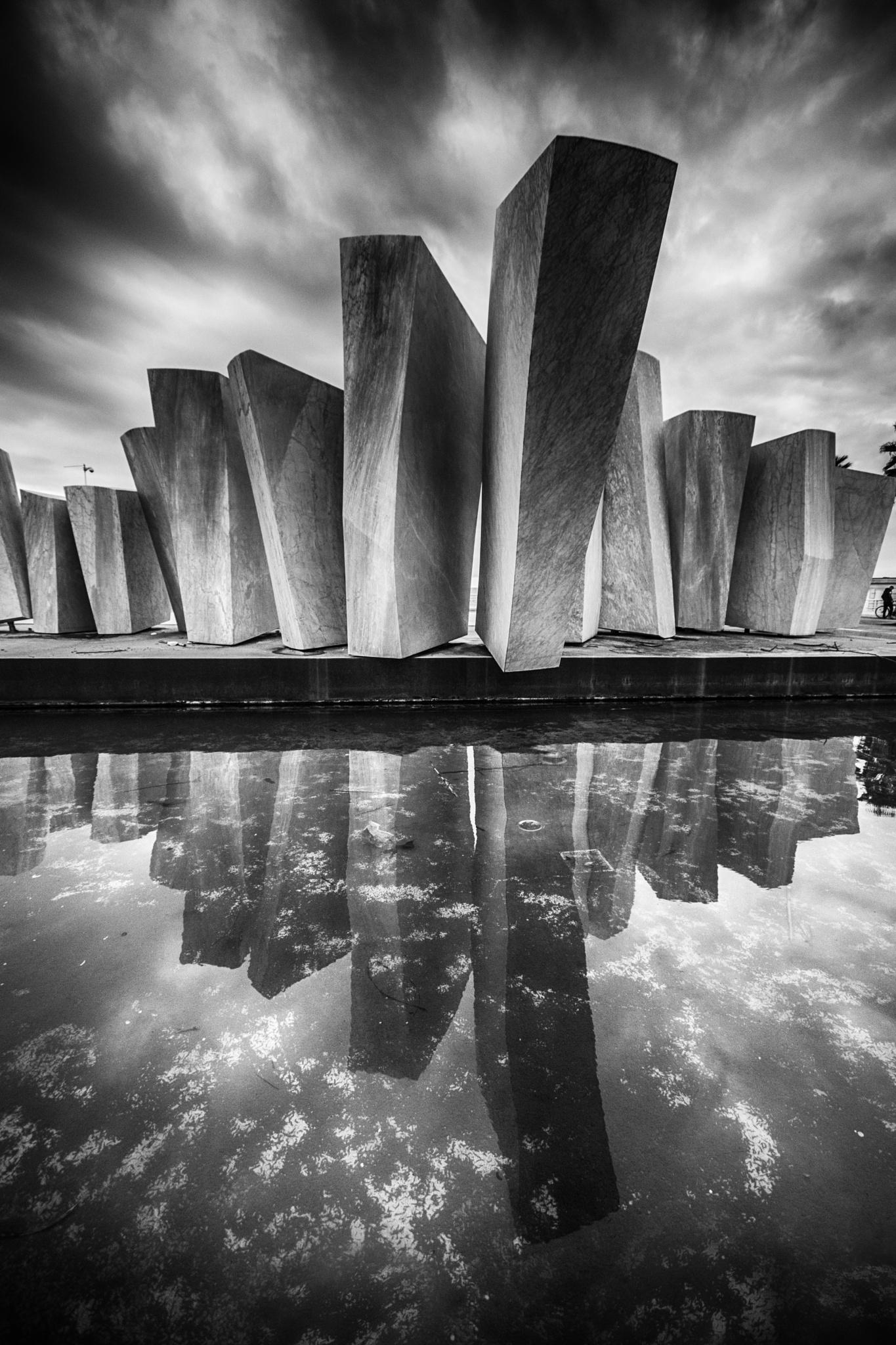 the sails b/w by cristina orlandini