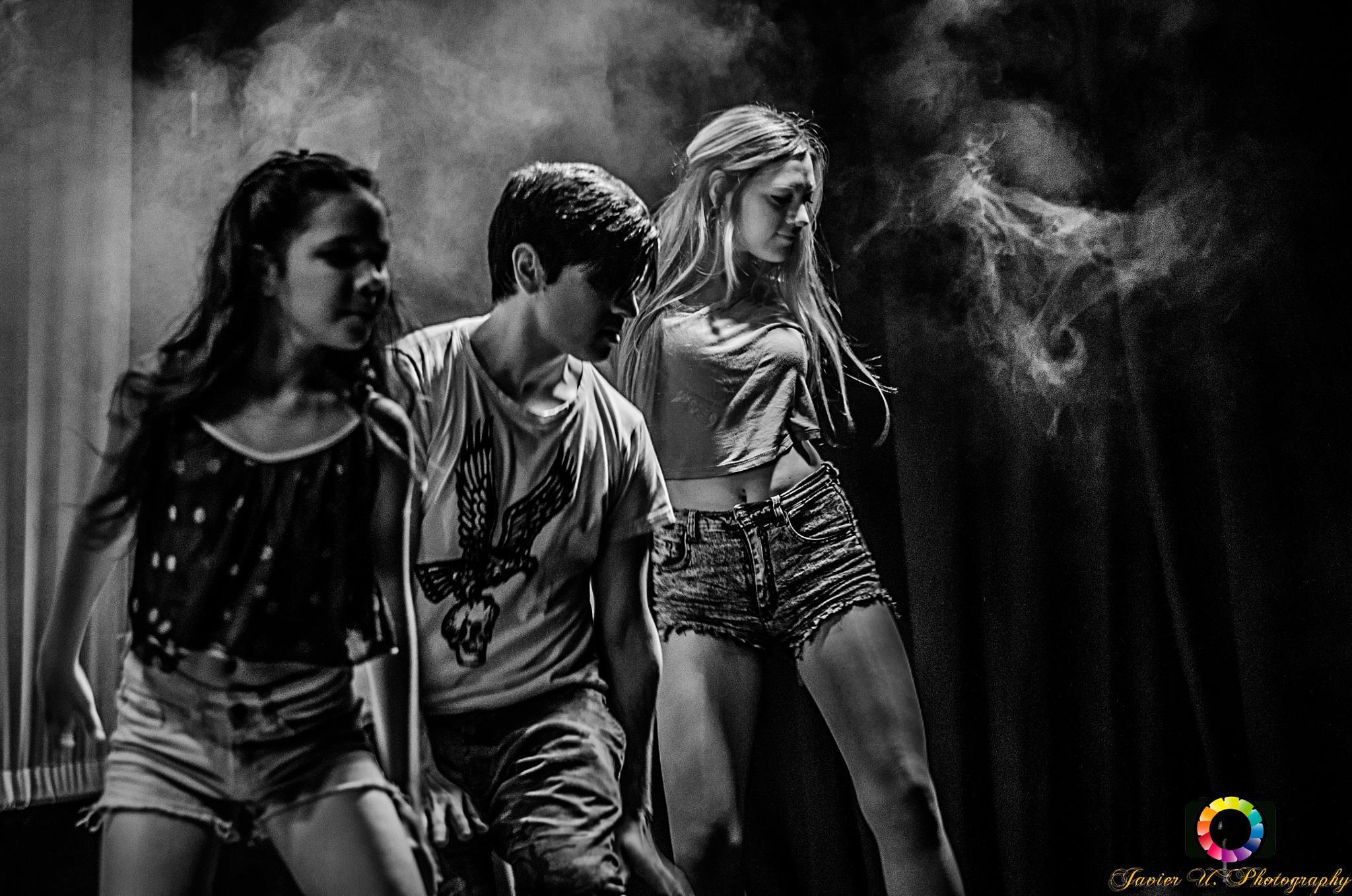 Tres bailarines by Chirolin72