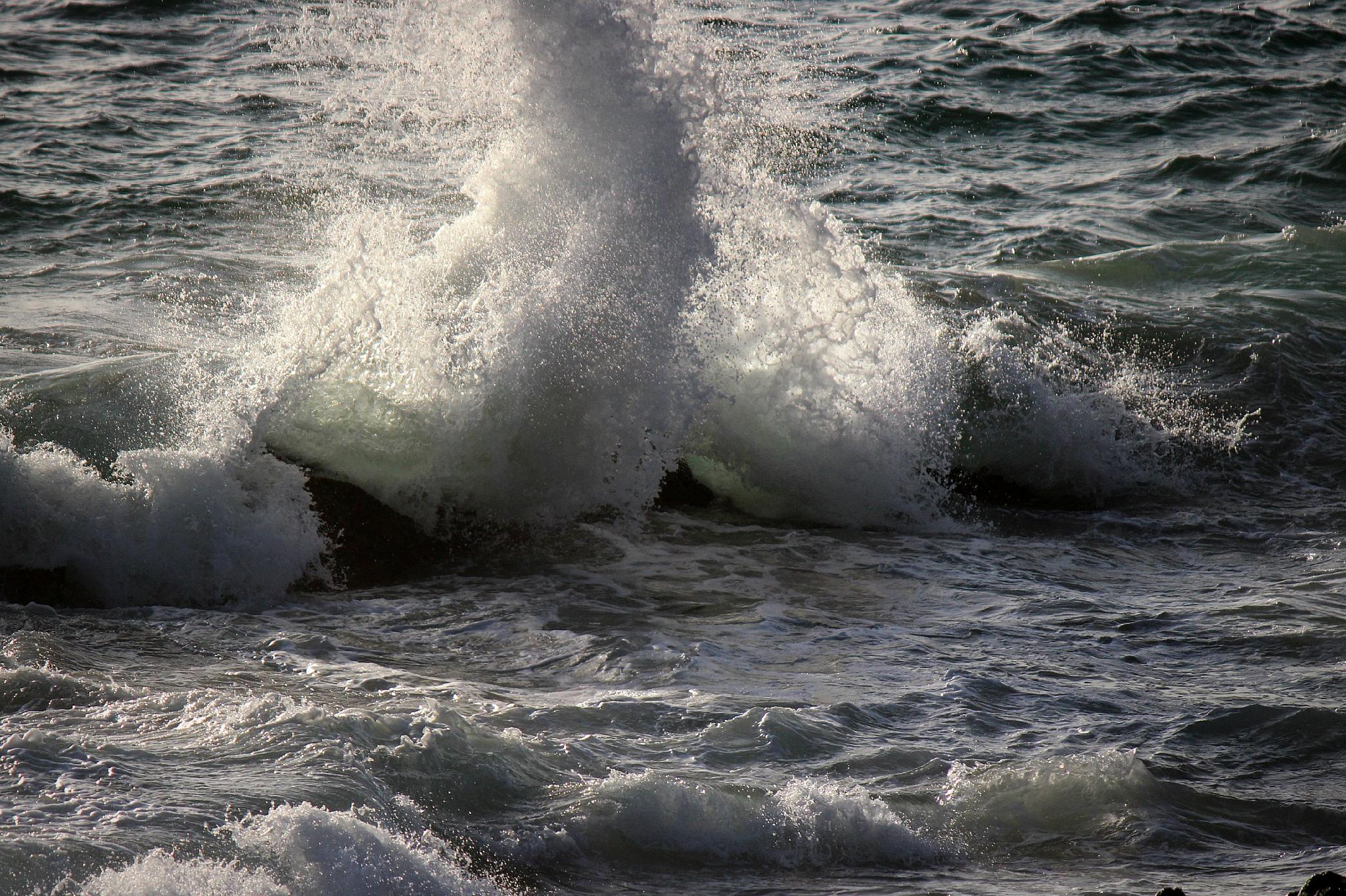 Photo in Sea and Sand #waves #laguna beach #splash