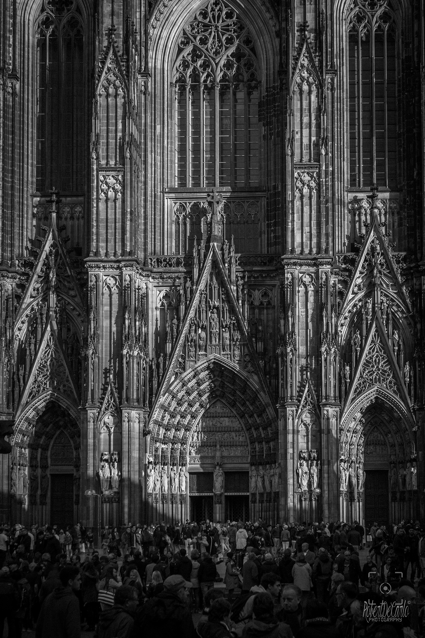 Koln Cathedral by Robert De Carlo