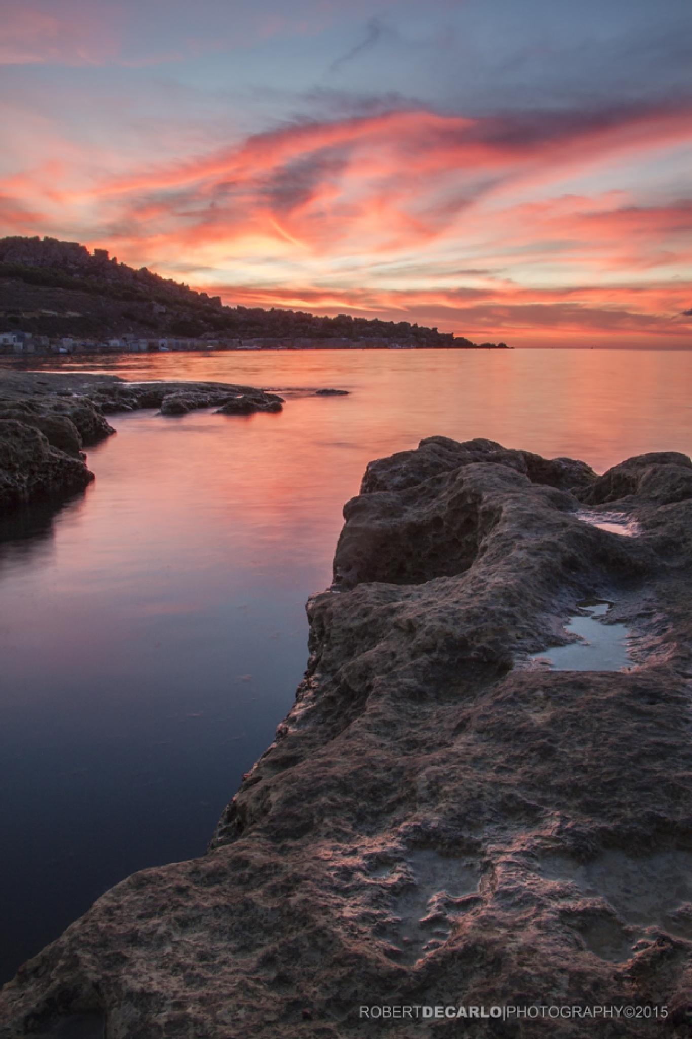Gnejna Sunset II by Robert De Carlo