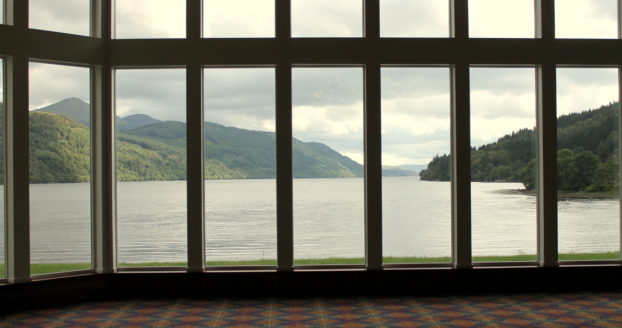 Loch Long view from Ardgarten Hotel (Scotland) by Tony Bent