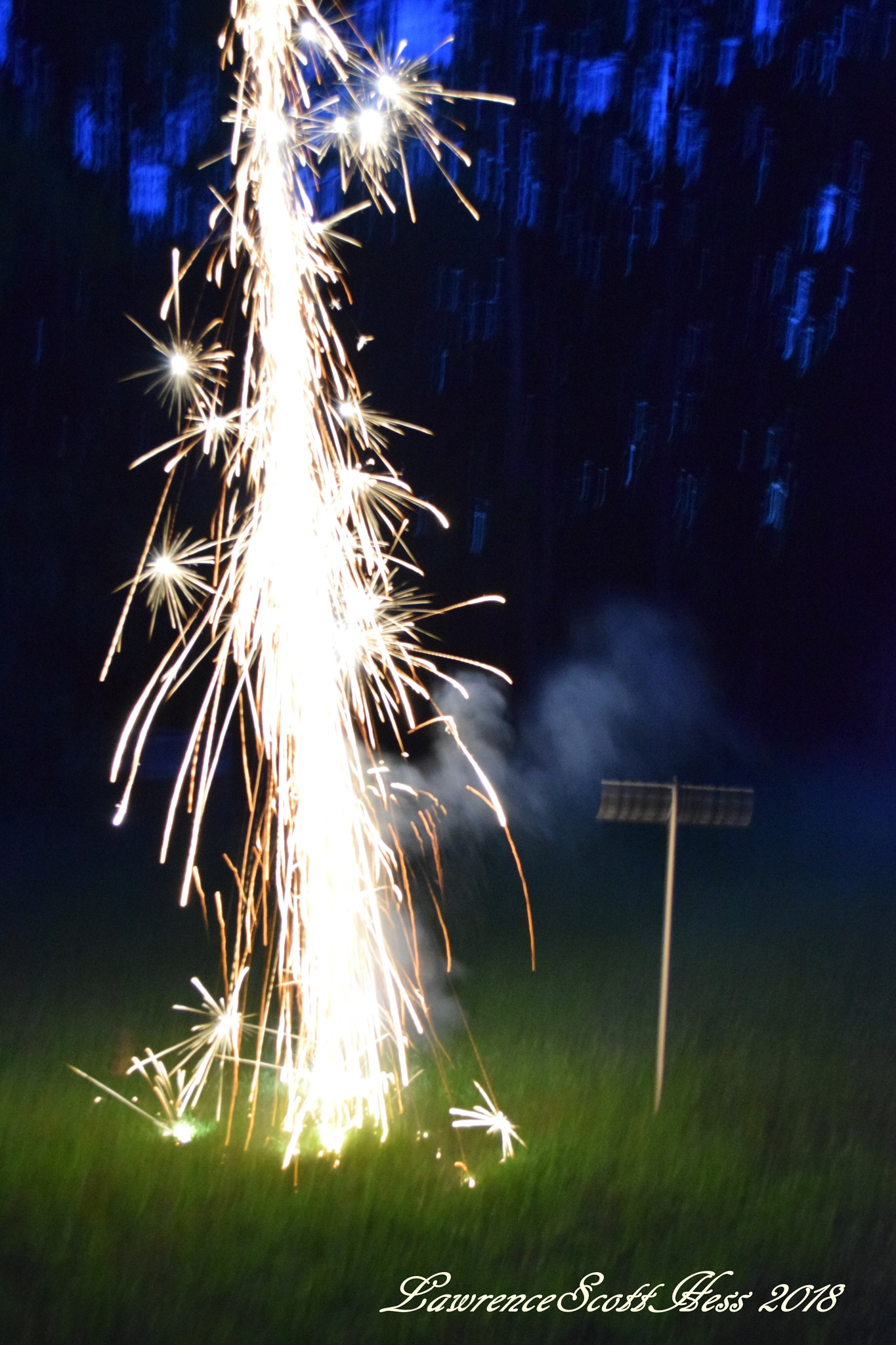 Photo in Abstract #abstract #sparklers #fireworks