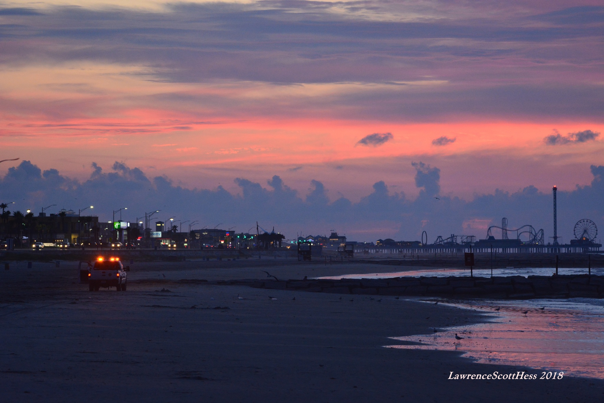 Galveston 421~The Break Of Dawn by Lawrence Scott Hess