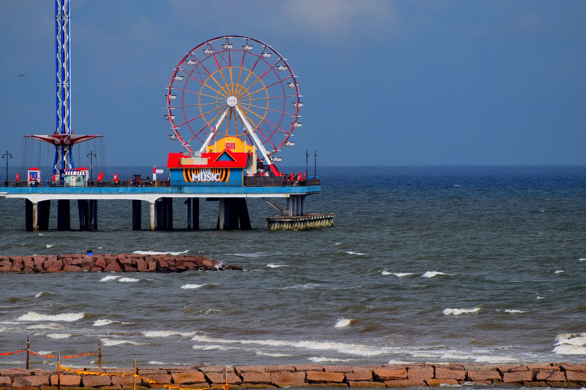 Galveston 48~Pleasure Pier 3 by Lawrence Scott Hess