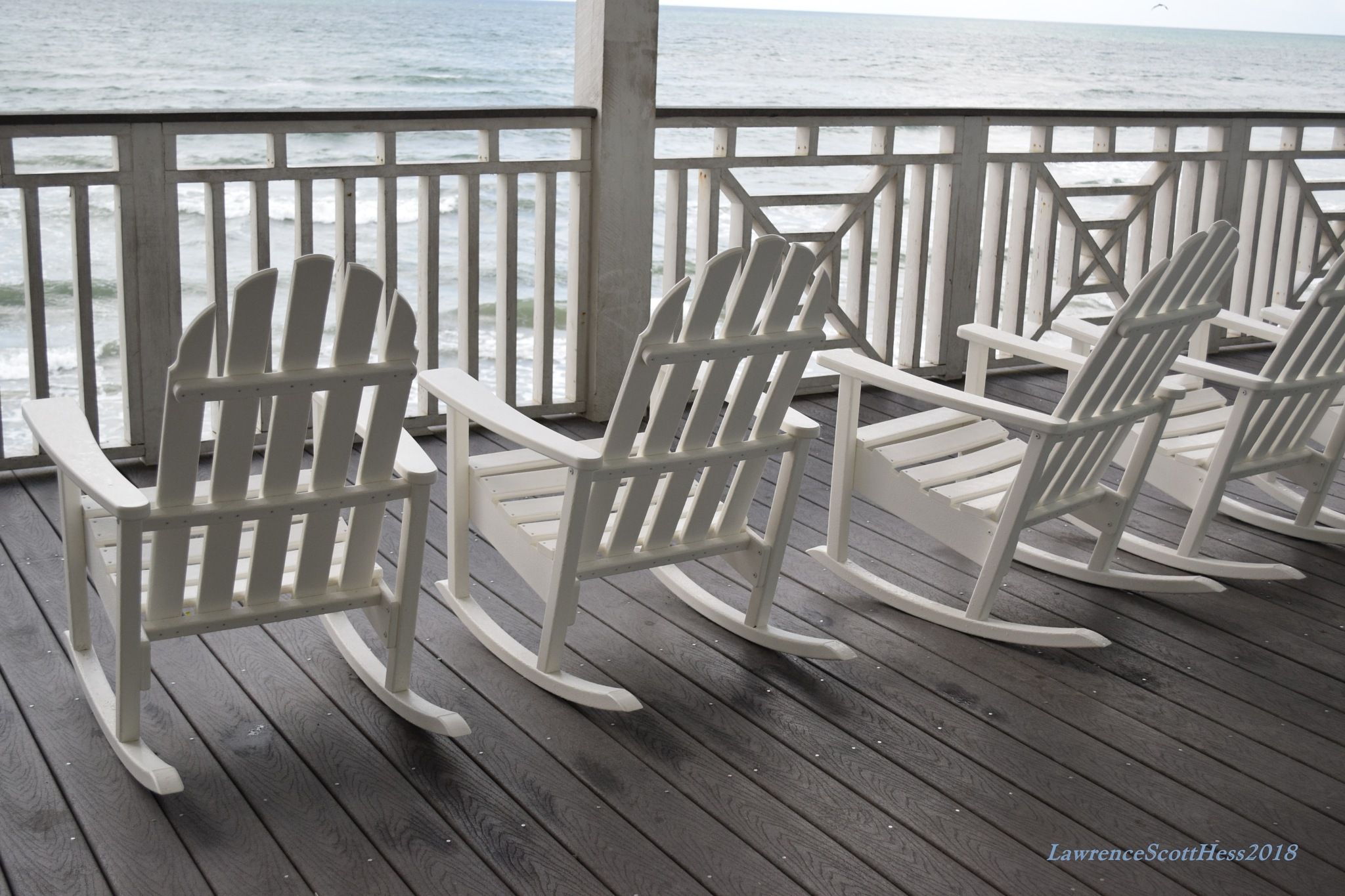 Galveston 231~Murdochs Rocking Chairs by Lawrence Scott Hess