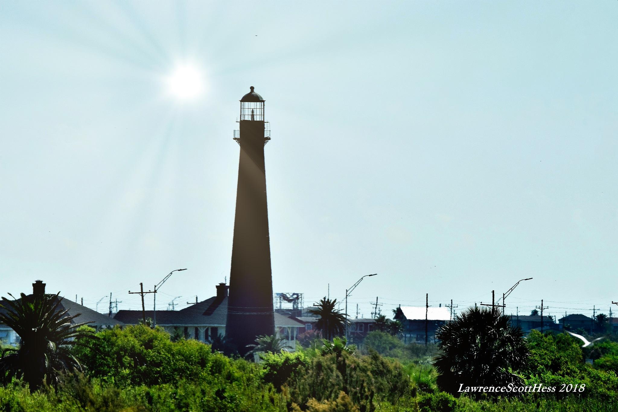 Galveston 530~The Lighthouse by Lawrence Scott Hess