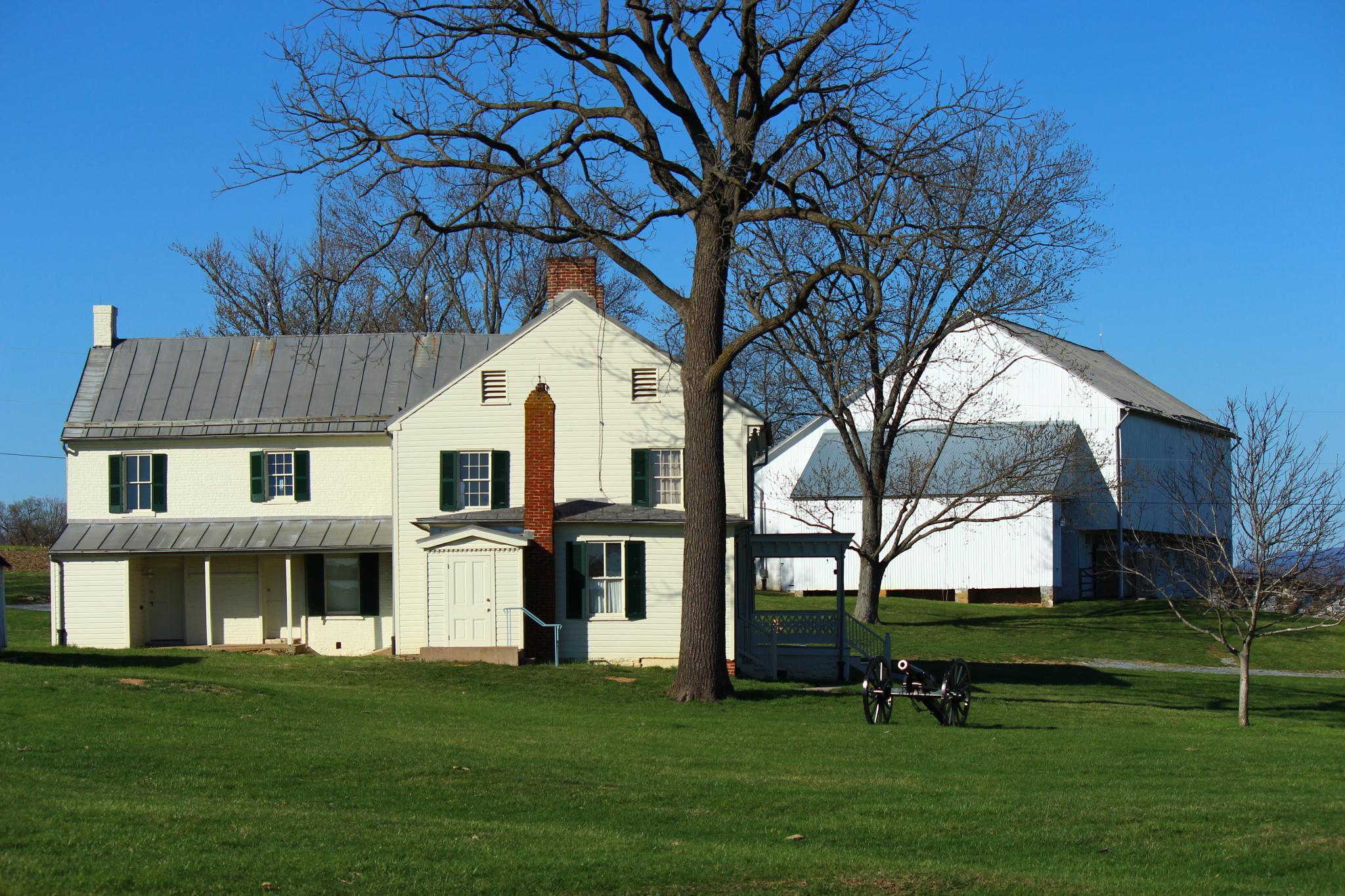 Mumma Farm Antietam National Battlefield by Clark L. Roberts