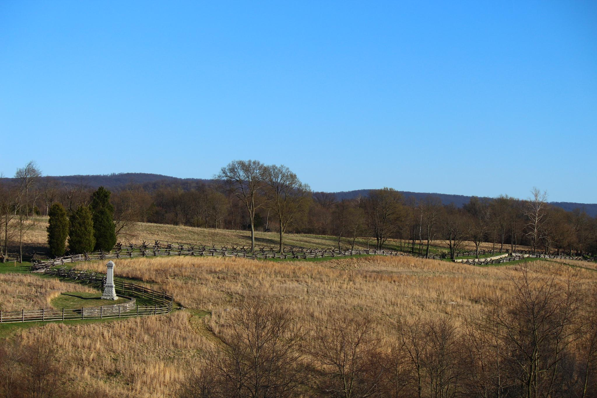 Civil War Winding Fences Part Two by Clark L. Roberts